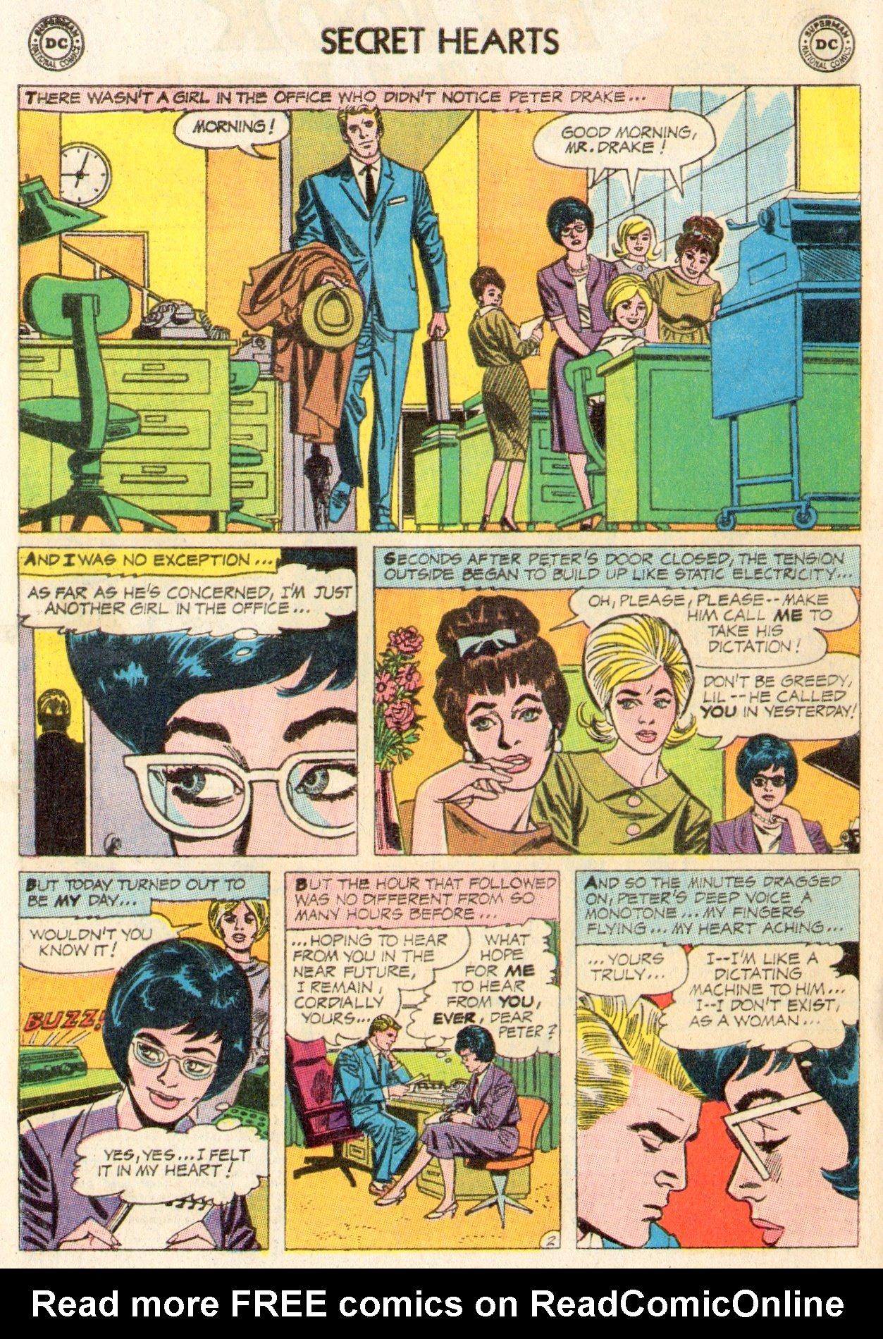 Read online Secret Hearts comic -  Issue #104 - 4