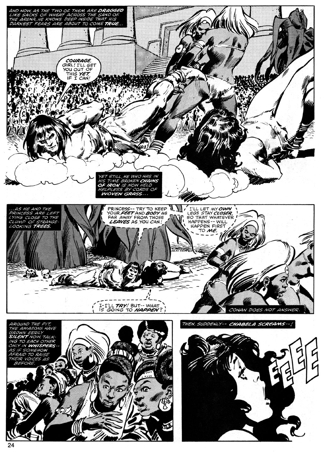 The Savage Sword Of Conan Issue #42 #43 - English 24