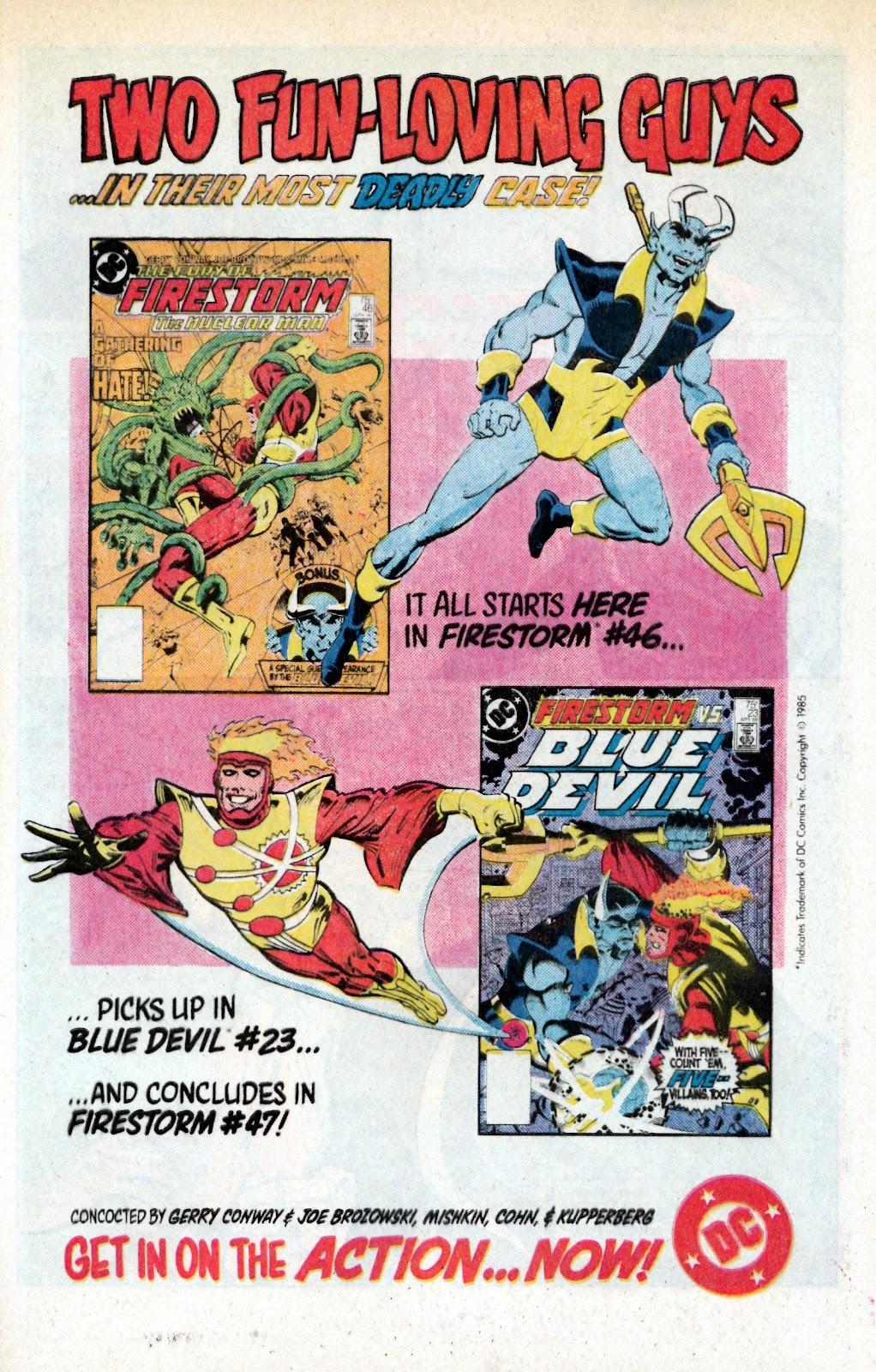 Aquaman (1986) Issue #3 #3 - English 32