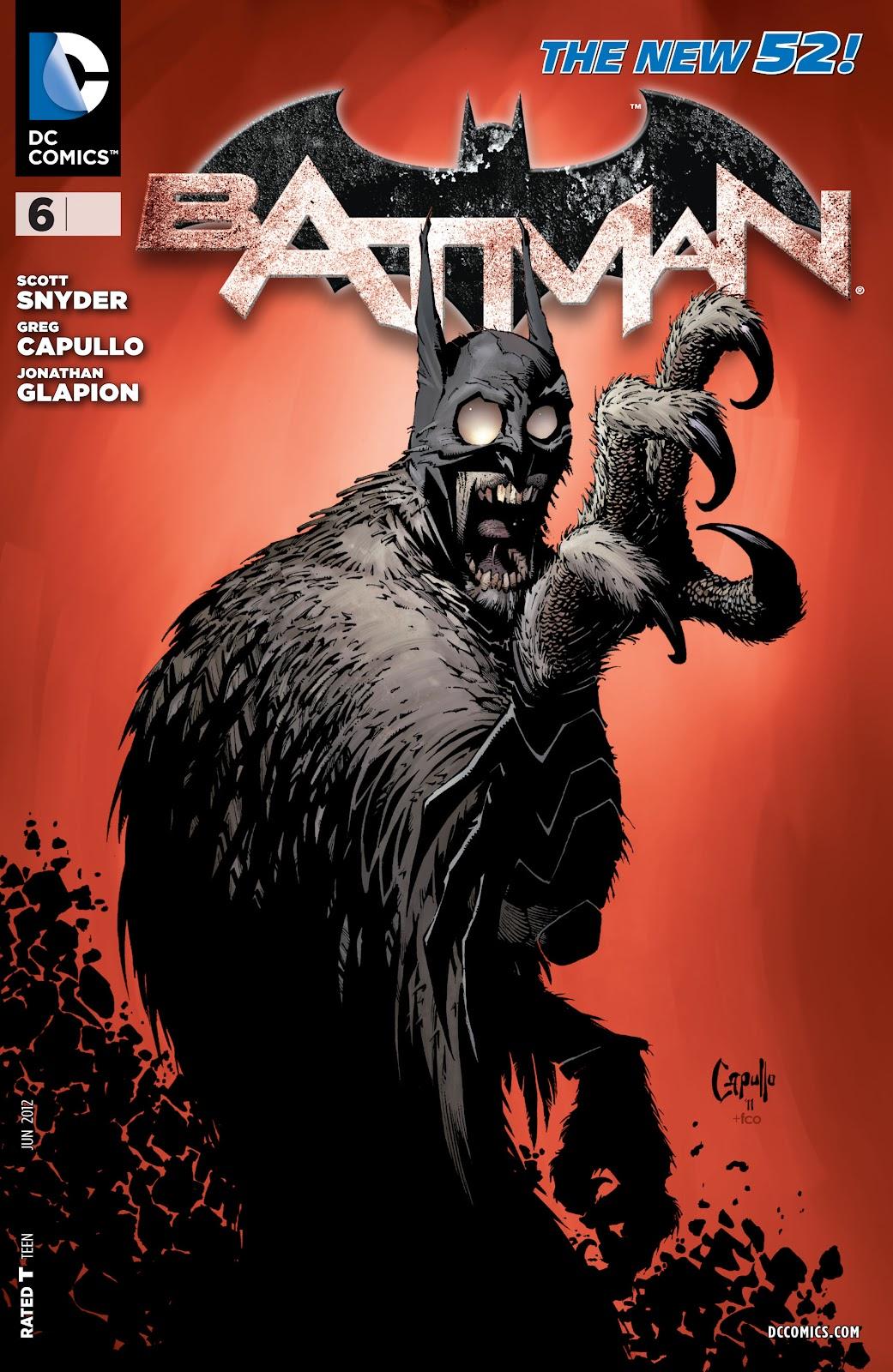 Batman (2011) Issue #6 #21 - English 5