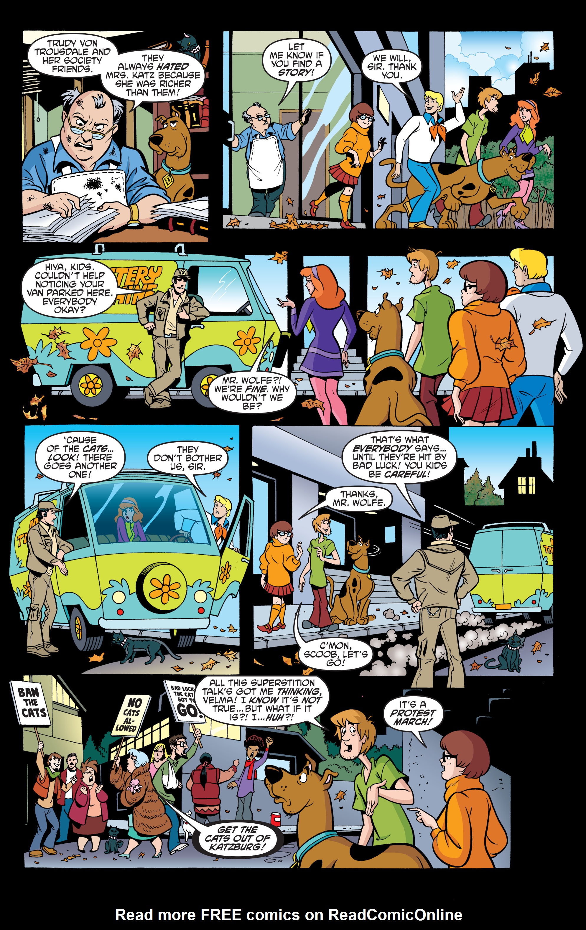 Read online Scooby-Doo: Where Are You? comic -  Issue #63 - 19