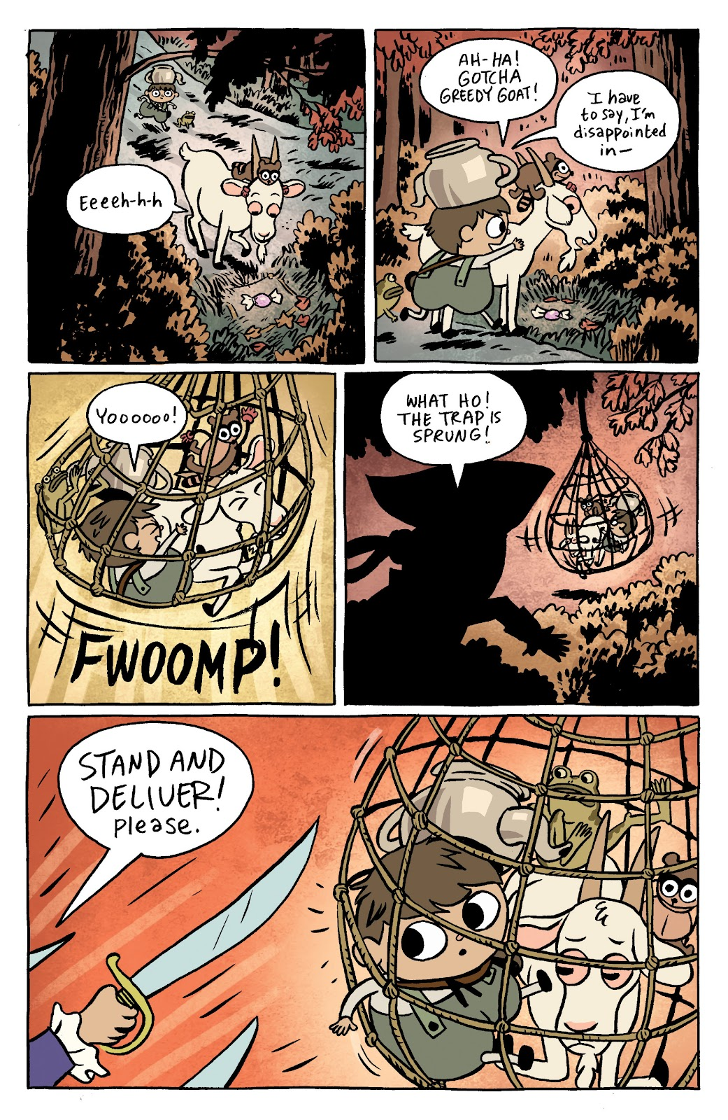 Over the Garden Wall (2016) Issue #11 #11 - English 6