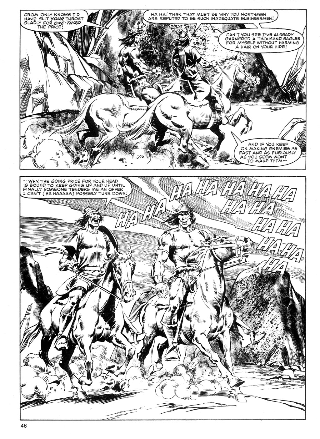 The Savage Sword Of Conan Issue #91 #92 - English 45
