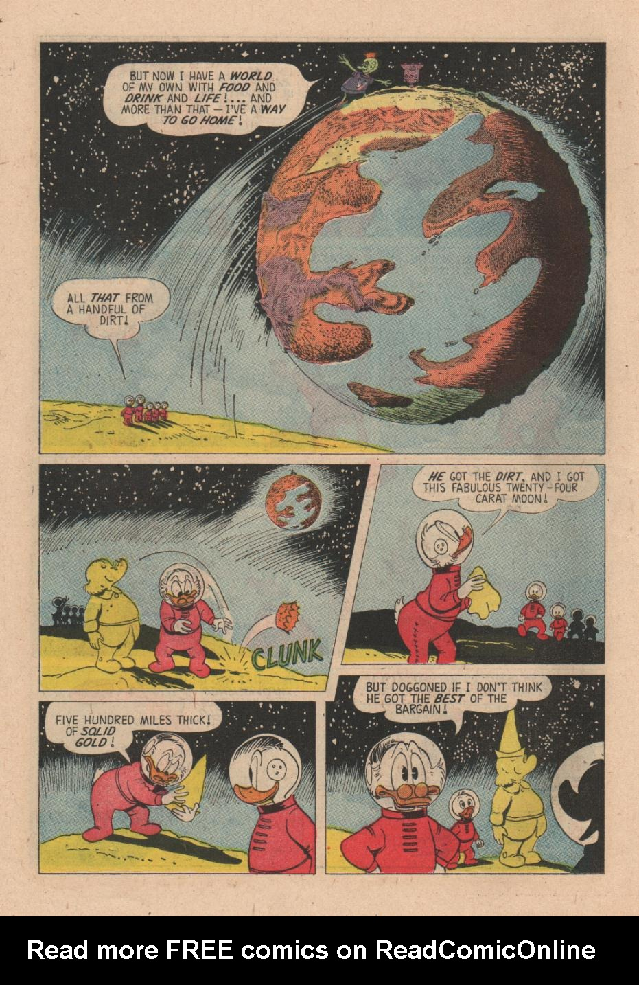 Uncle Scrooge (1953) Issue #24 #24 - English 22