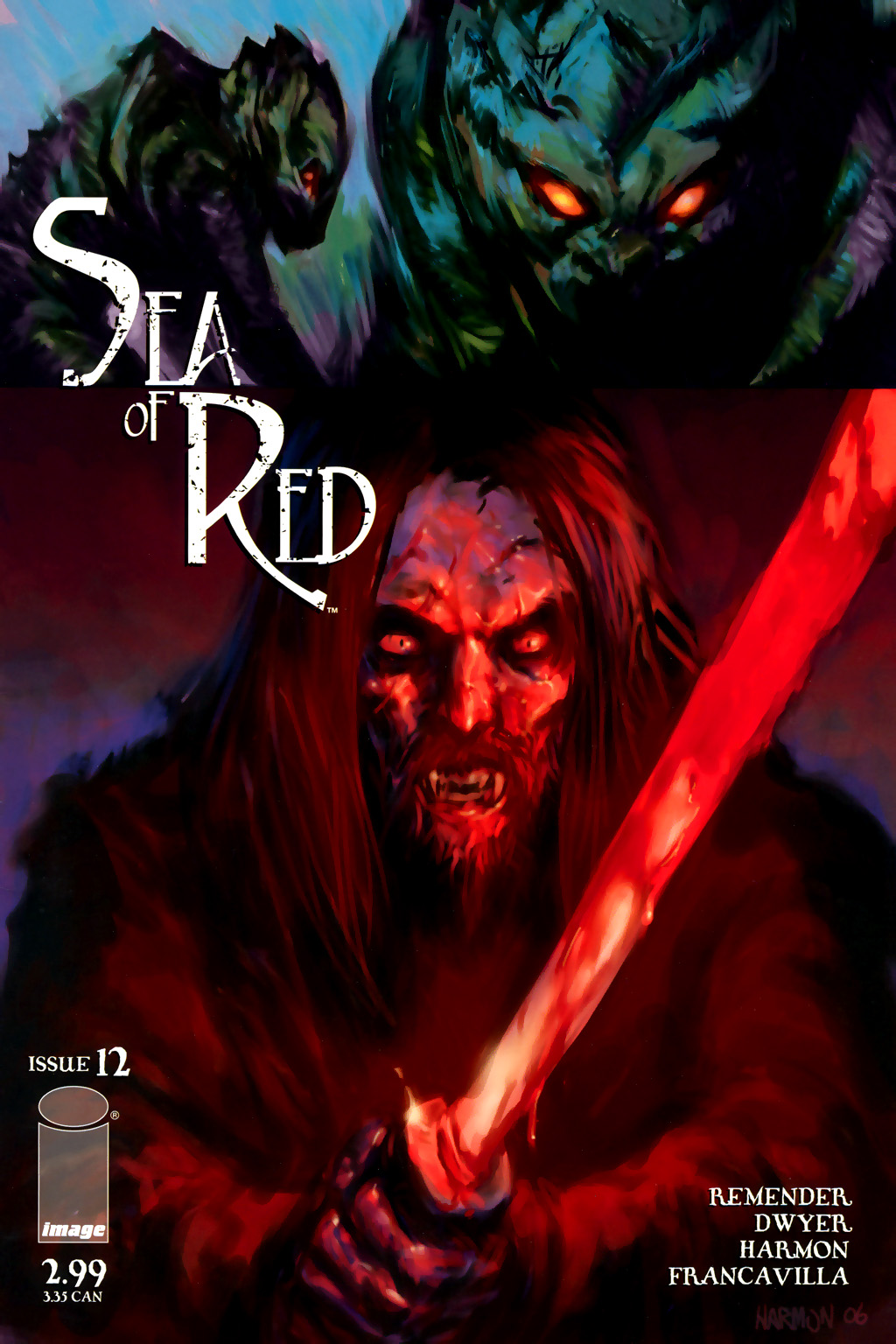 Read online Sea of Red comic -  Issue #12 - 1