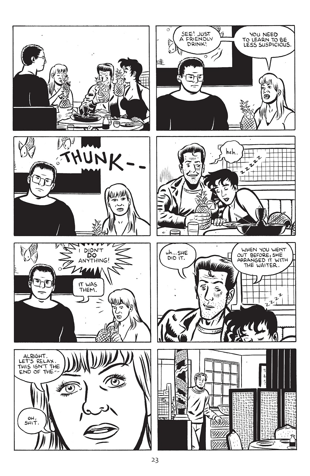 Stray Bullets Issue #24 #24 - English 25