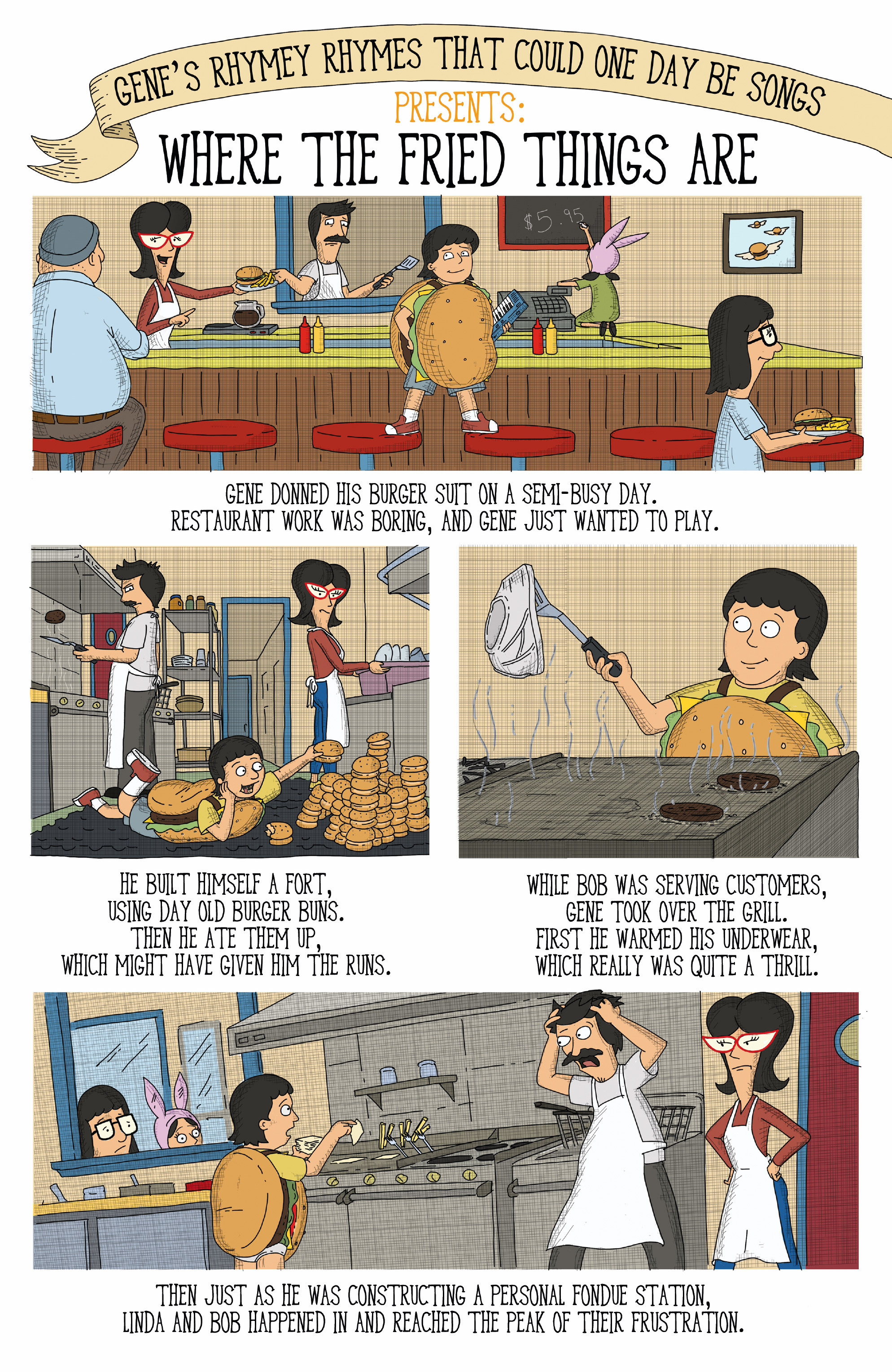 Read online Bob's Burgers (2015) comic -  Issue #12 - 20