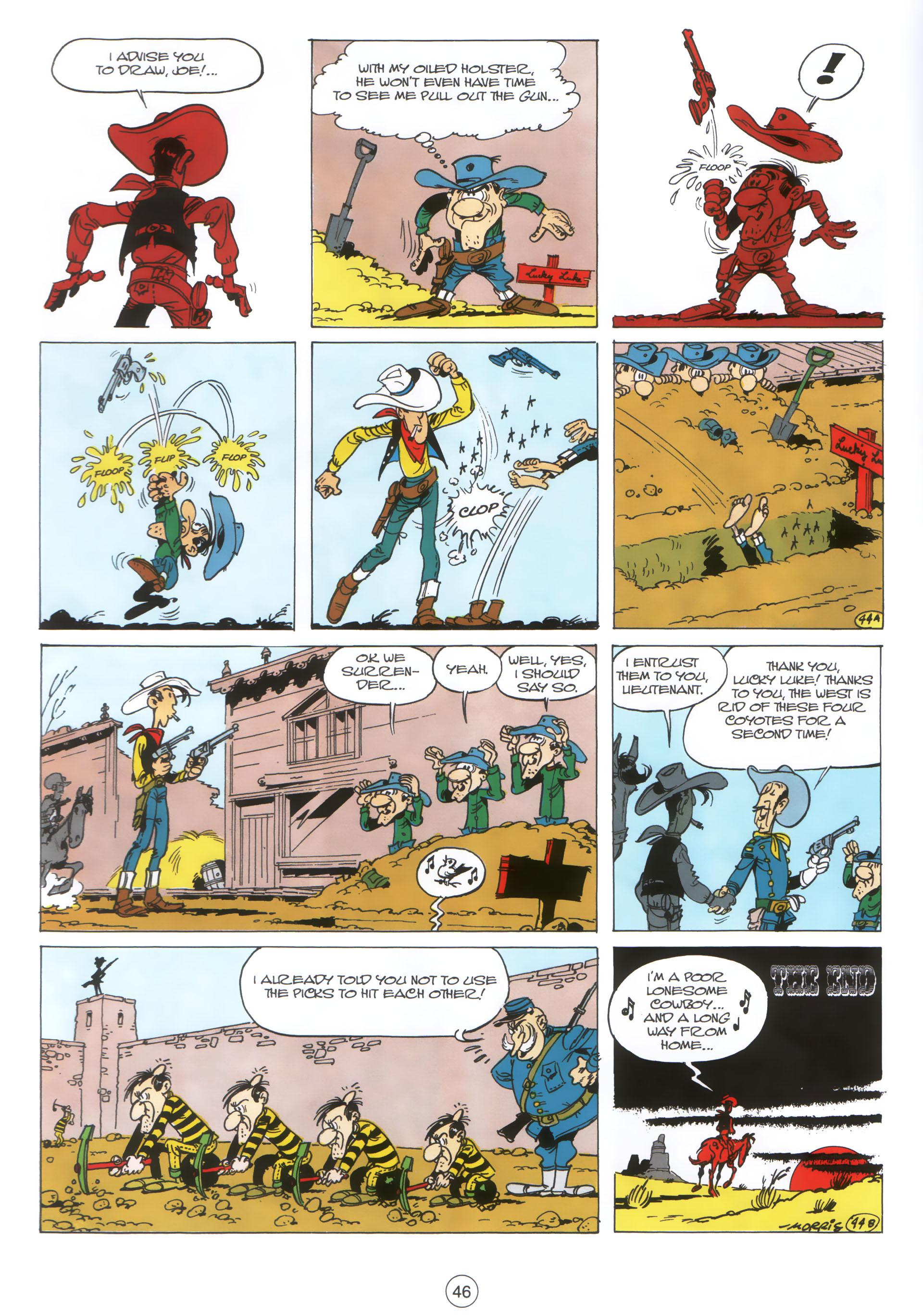 A Lucky Luke Adventure 30 Page 44