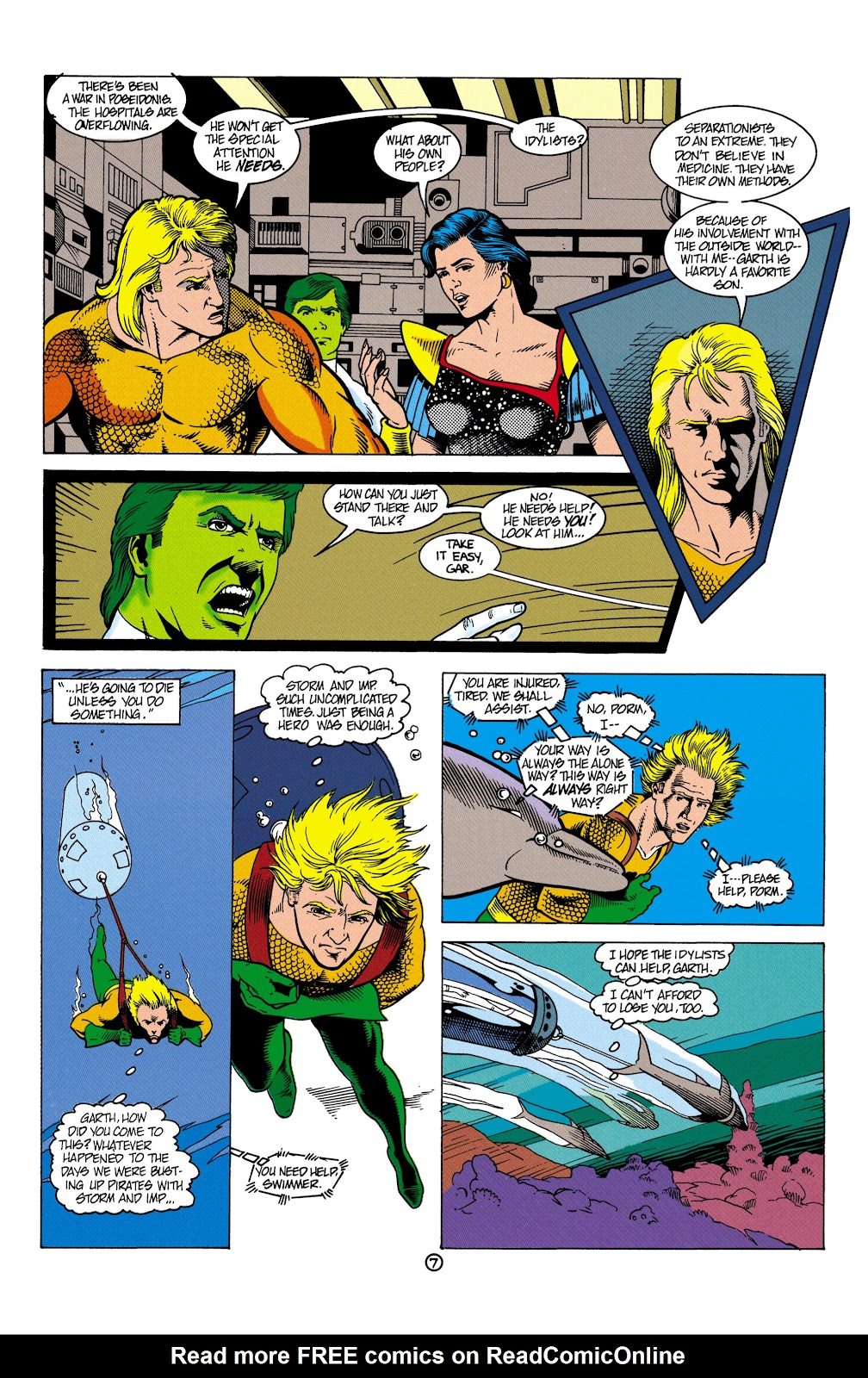 Aquaman (1991) Issue #5 #5 - English 8