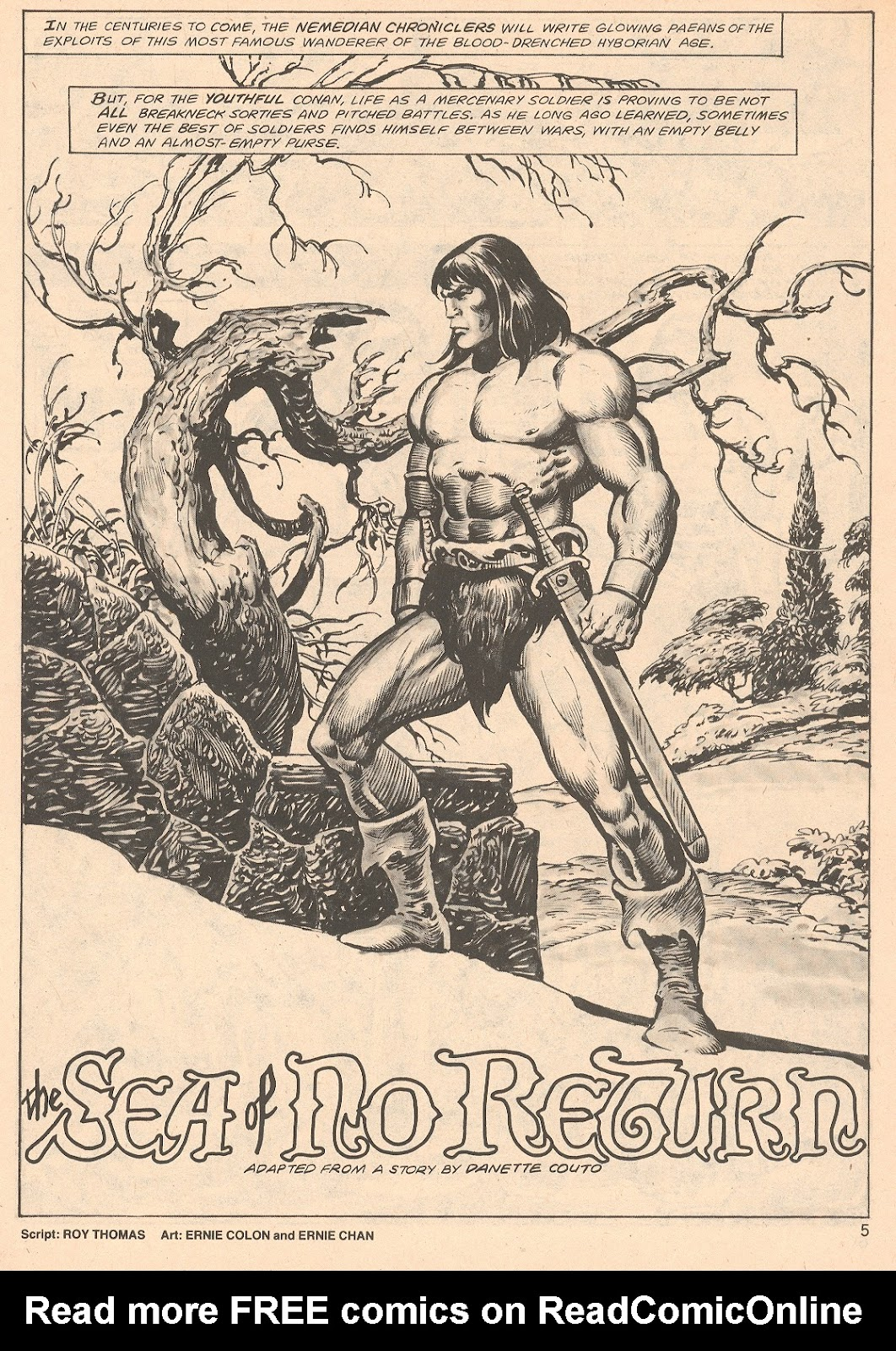 The Savage Sword Of Conan Issue #66 #67 - English 5