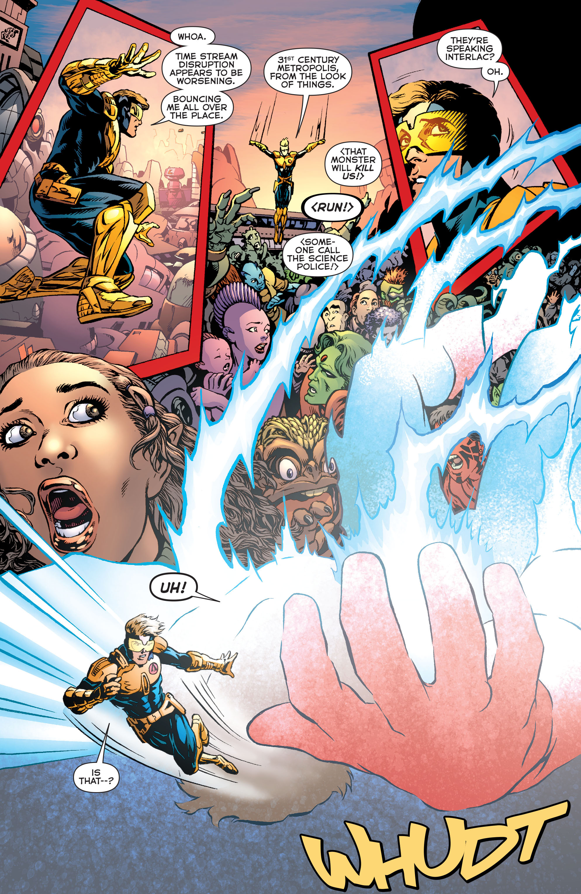 Read online Booster Gold: Futures End comic -  Issue # Full - 9