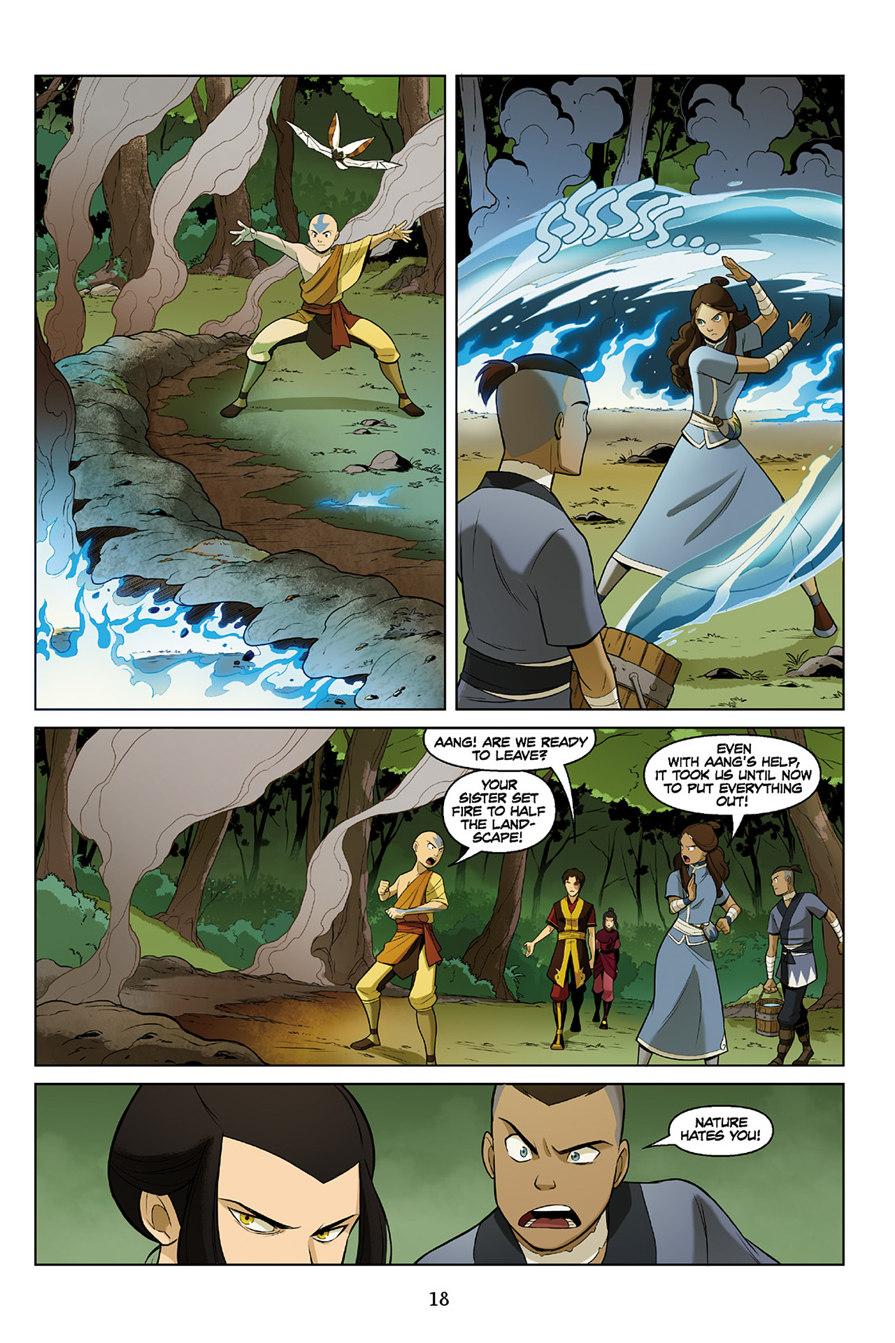 Read online Nickelodeon Avatar: The Last Airbender - The Search comic -  Issue # Part 2 - 19