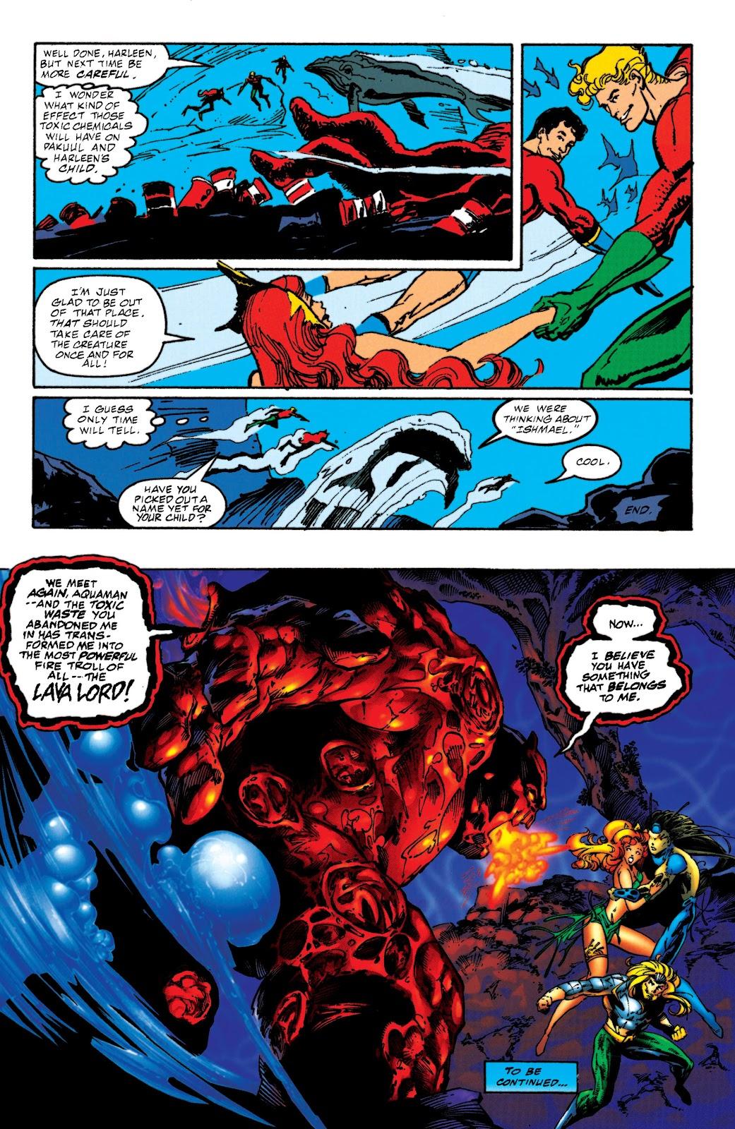 Aquaman (1994) Issue #52 #58 - English 22