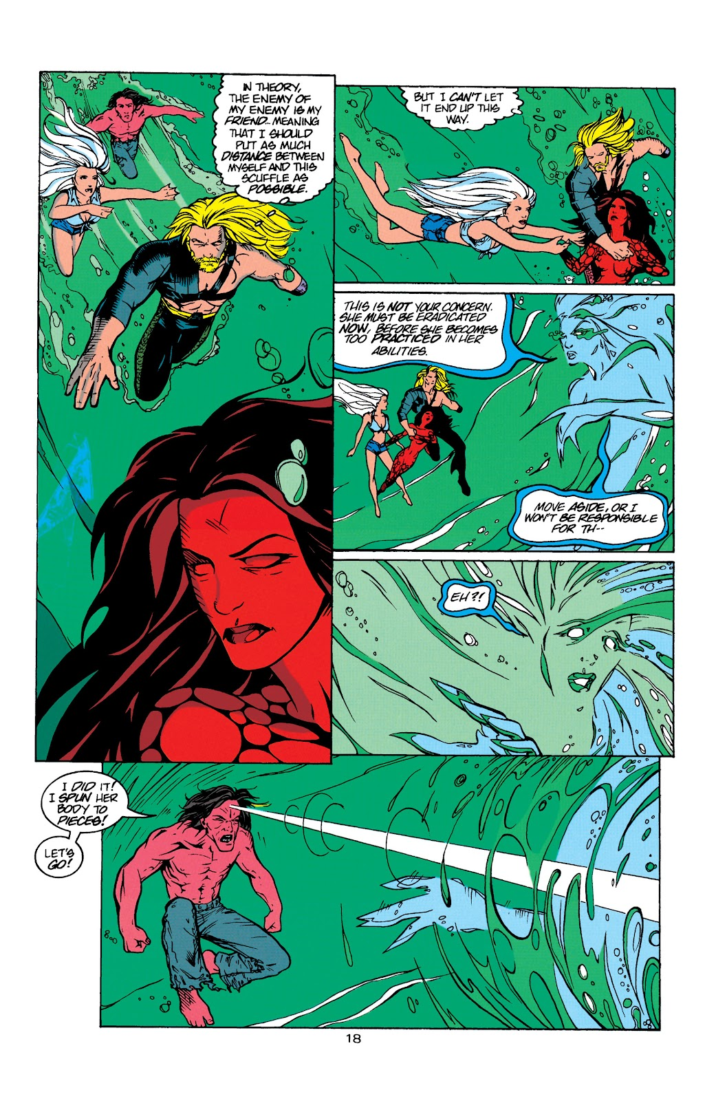Aquaman (1994) Issue #8 #14 - English 19