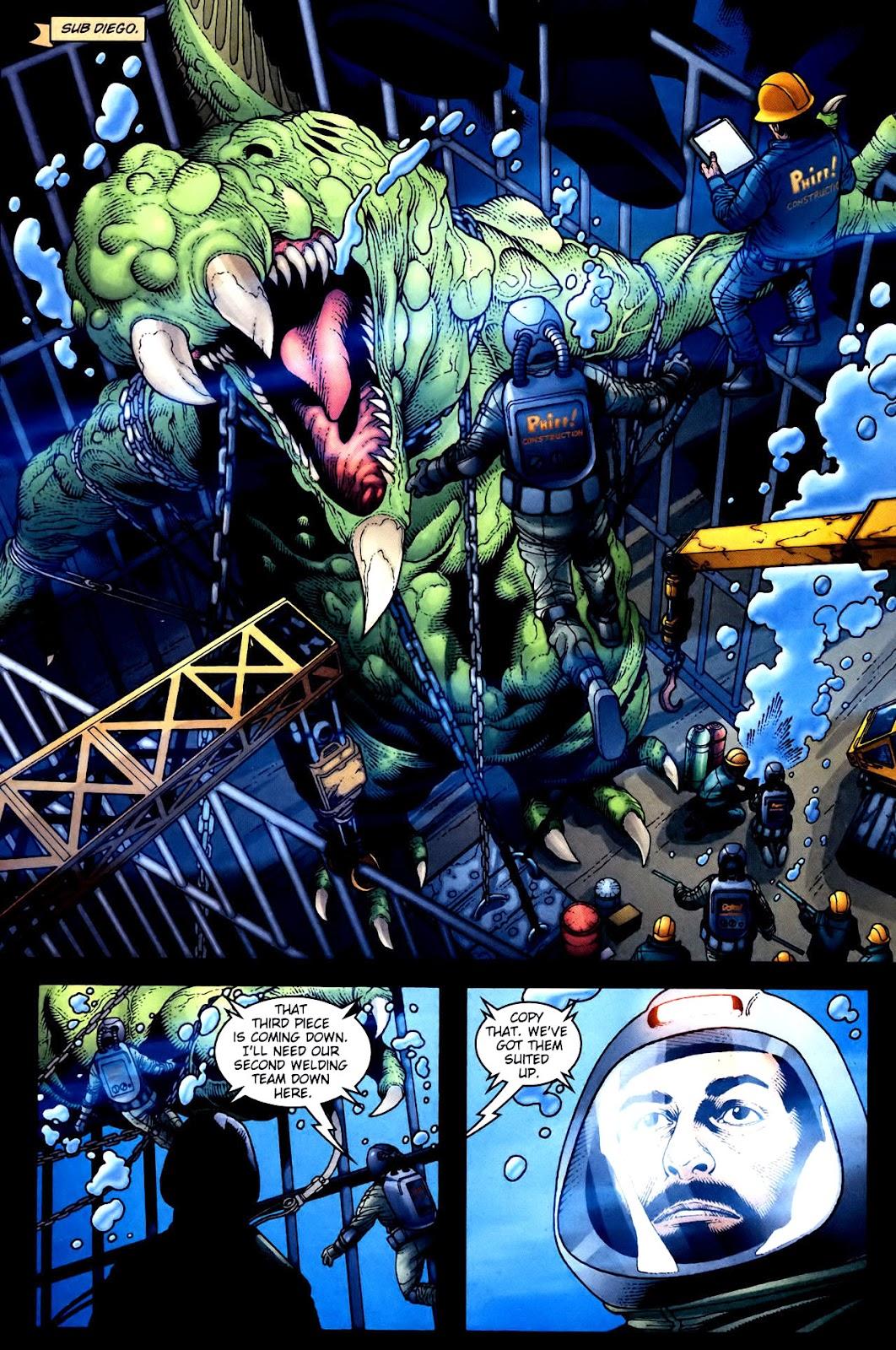 Aquaman (2003) Issue #34 #34 - English 14