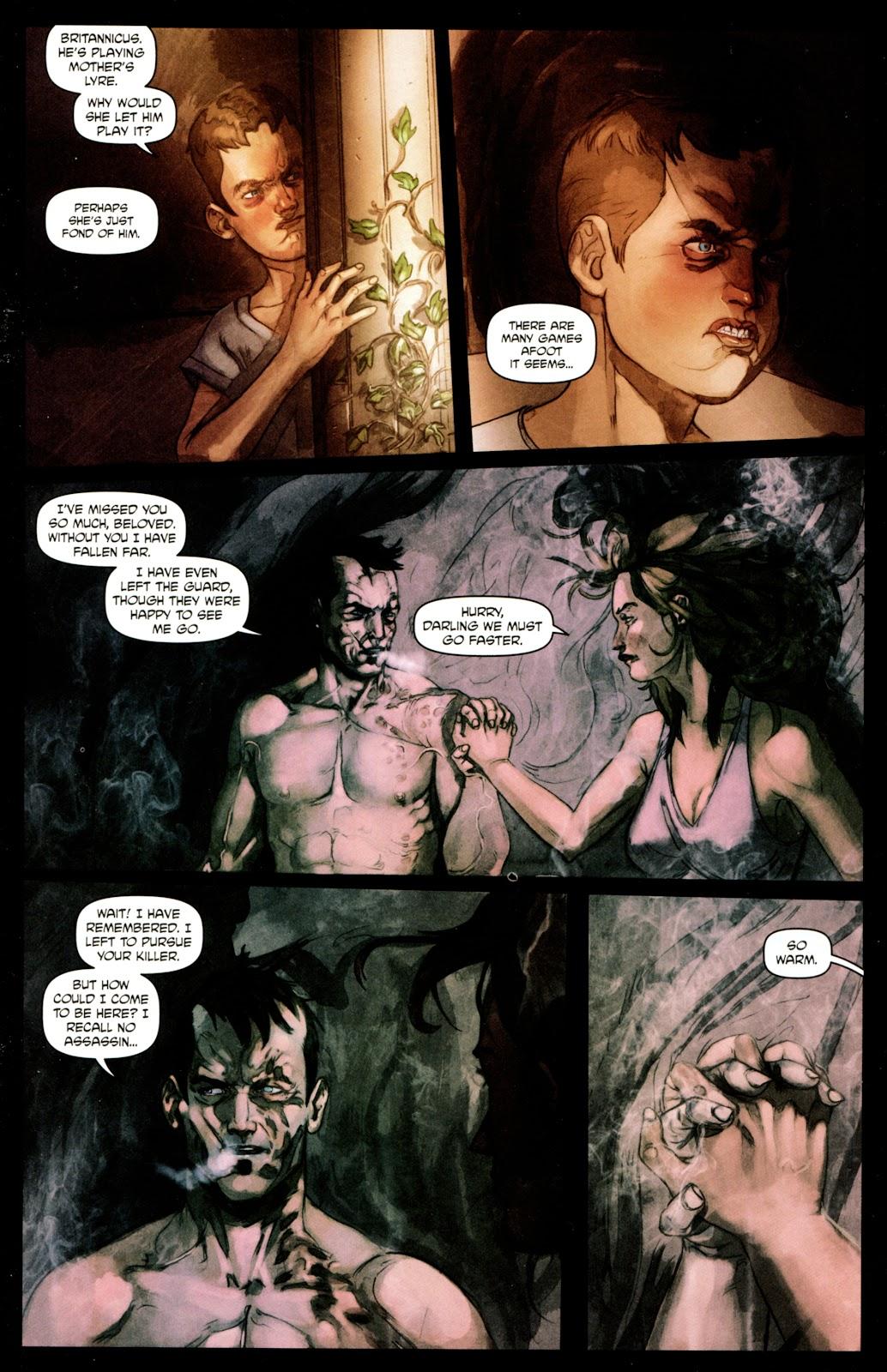 Caligula: Heart of Rome Issue #4 #4 - English 19