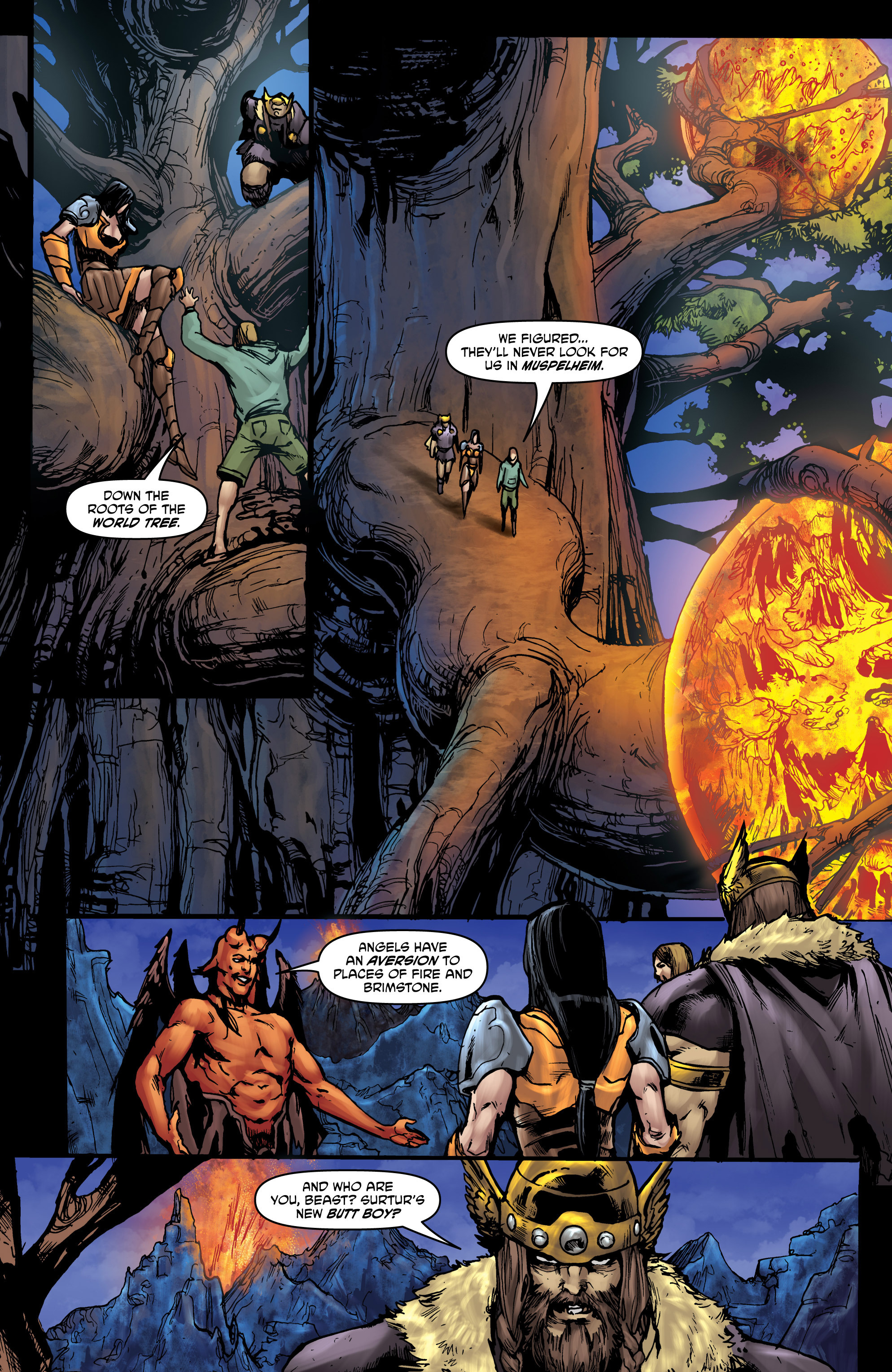 Read online God Is Dead comic -  Issue #44 - 16