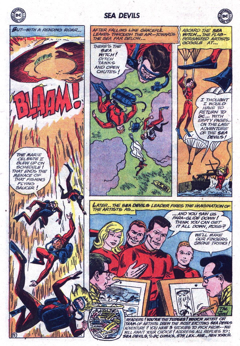 Read online Sea Devils comic -  Issue #13 - 32