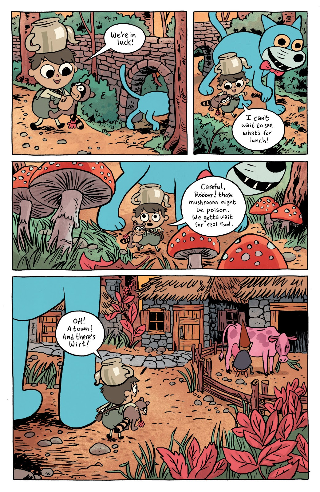 Over the Garden Wall (2016) Issue #1 #1 - English 5