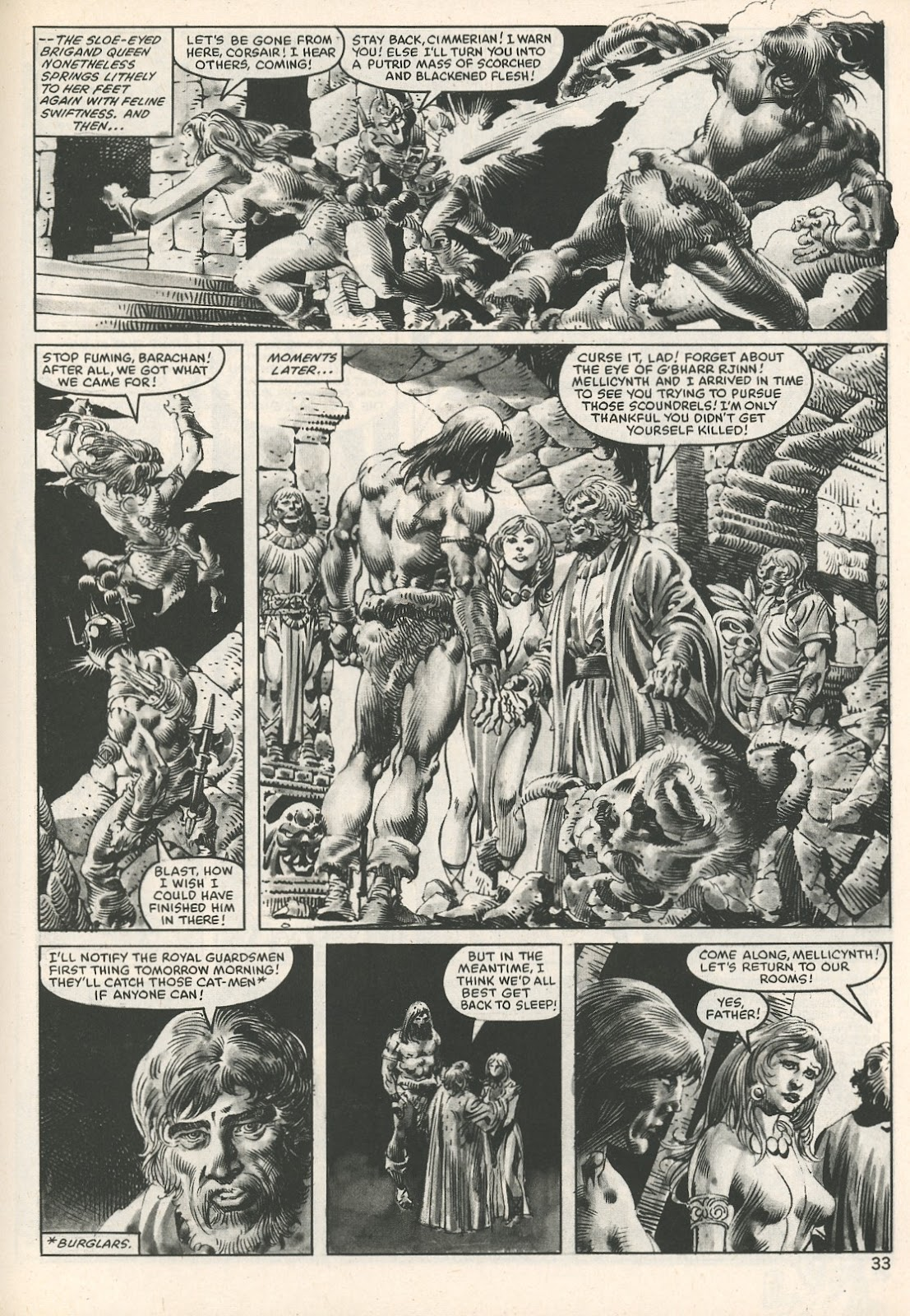 The Savage Sword Of Conan Issue #107 #108 - English 33