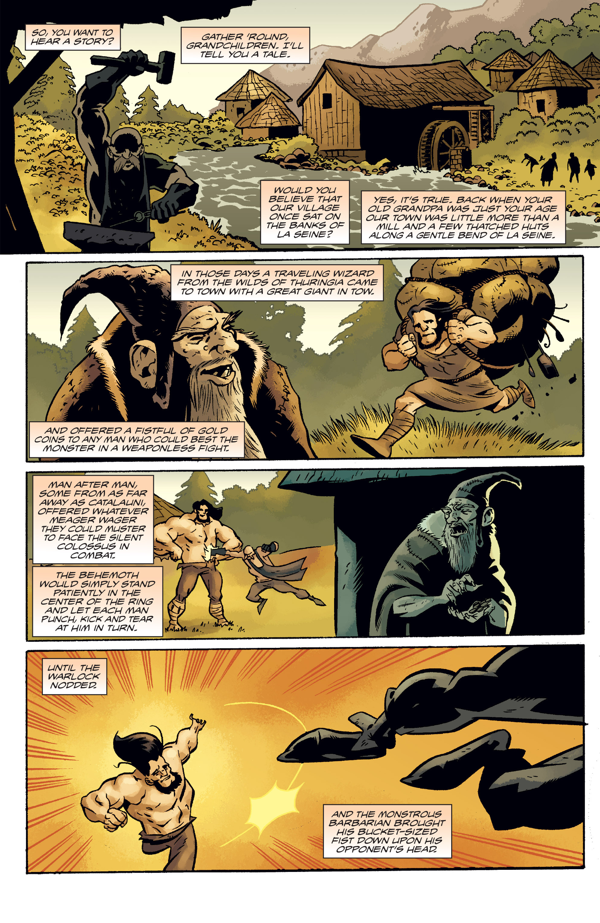 Read online The Anchor comic -  Issue # TPB 2 - 11