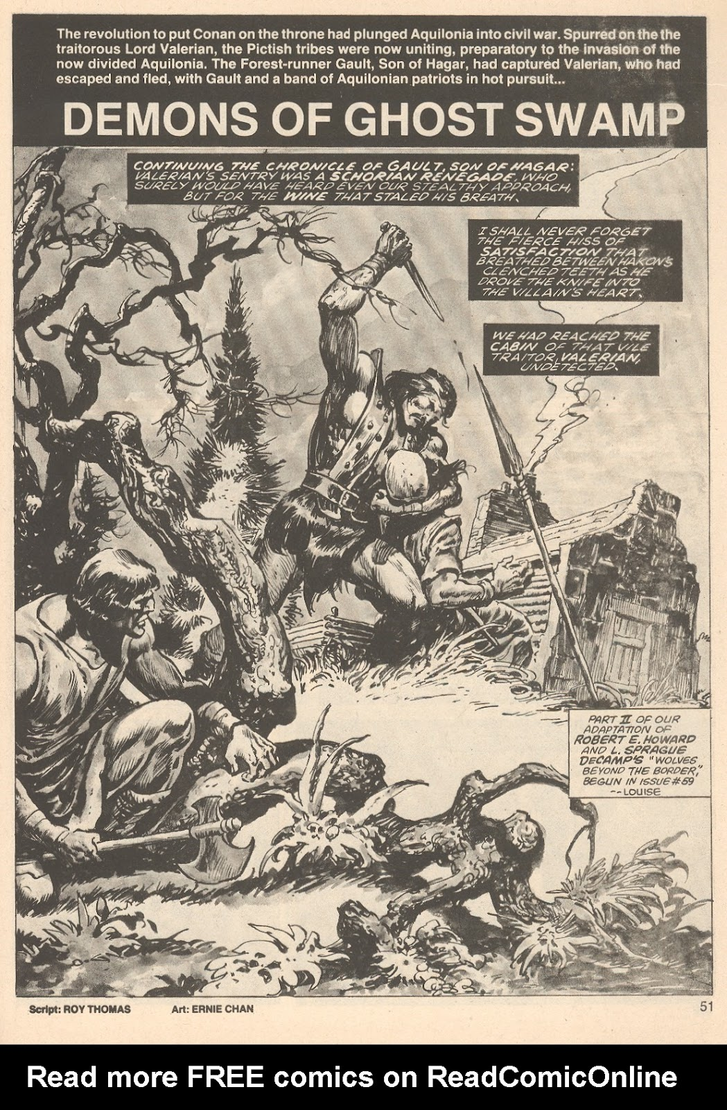 The Savage Sword Of Conan Issue #76 #77 - English 51