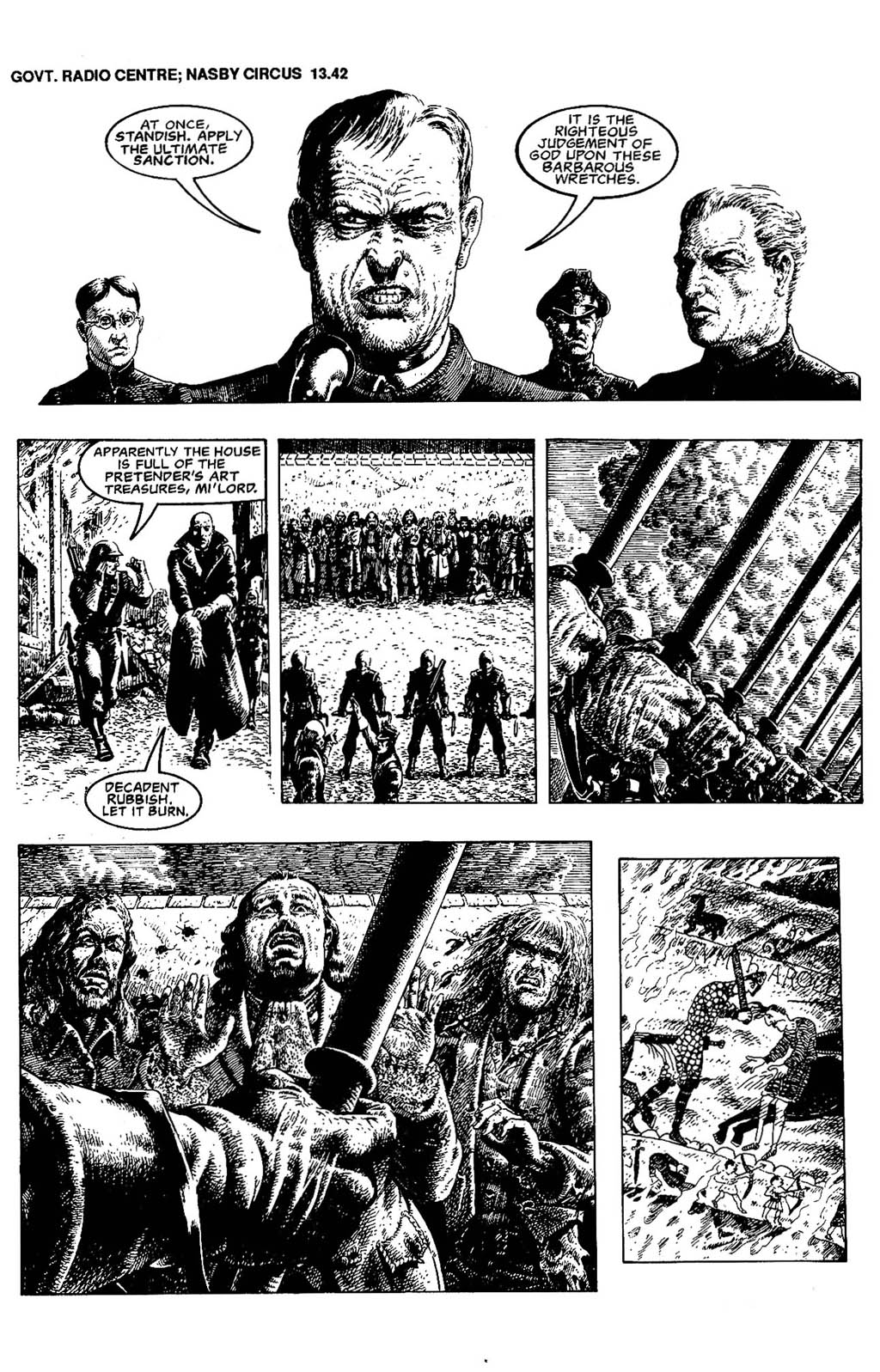 Read online The Adventures of Luther Arkwright comic -  Issue #5 - 7