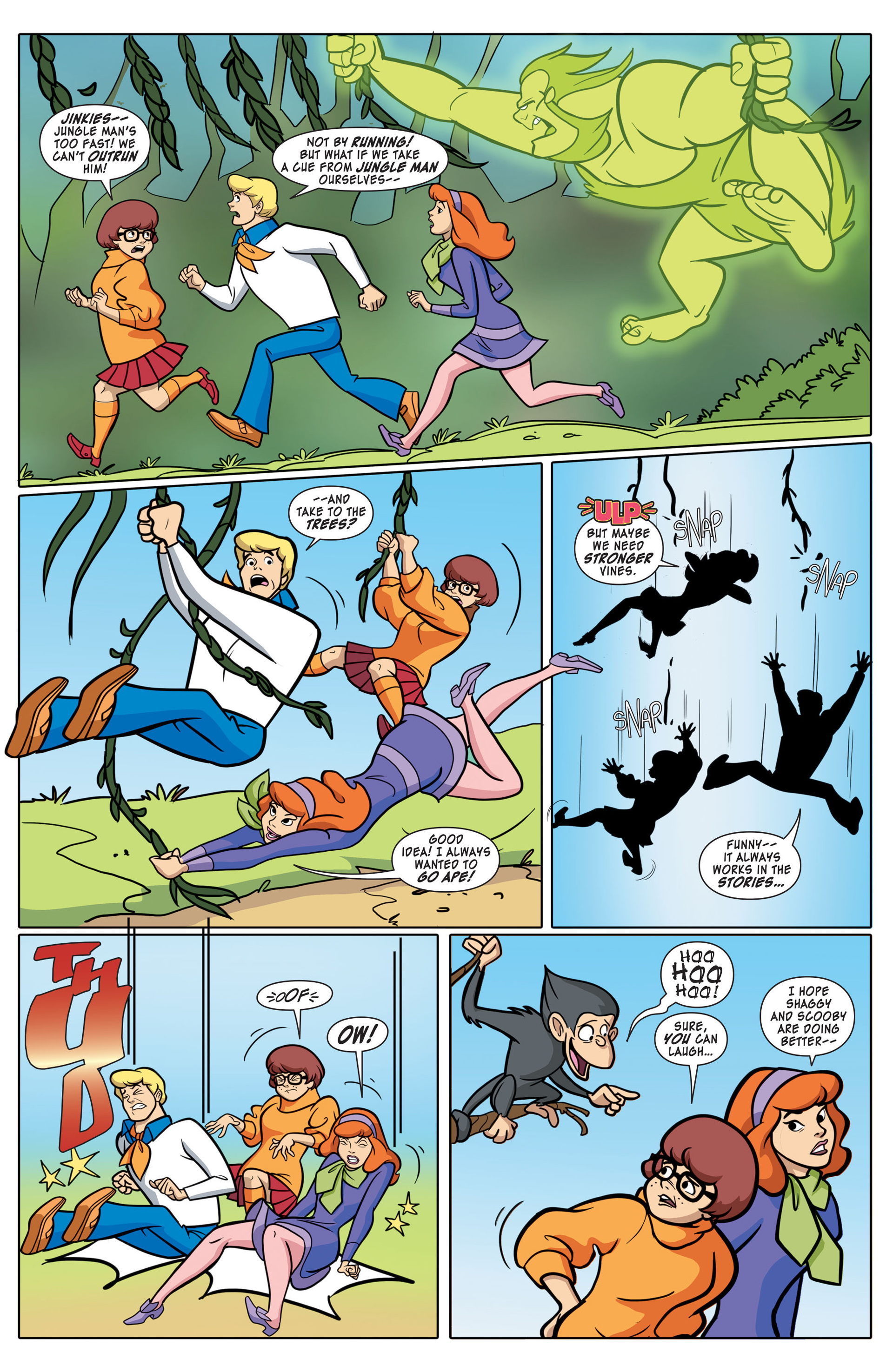 Read online Scooby-Doo: Where Are You? comic -  Issue #43 - 7