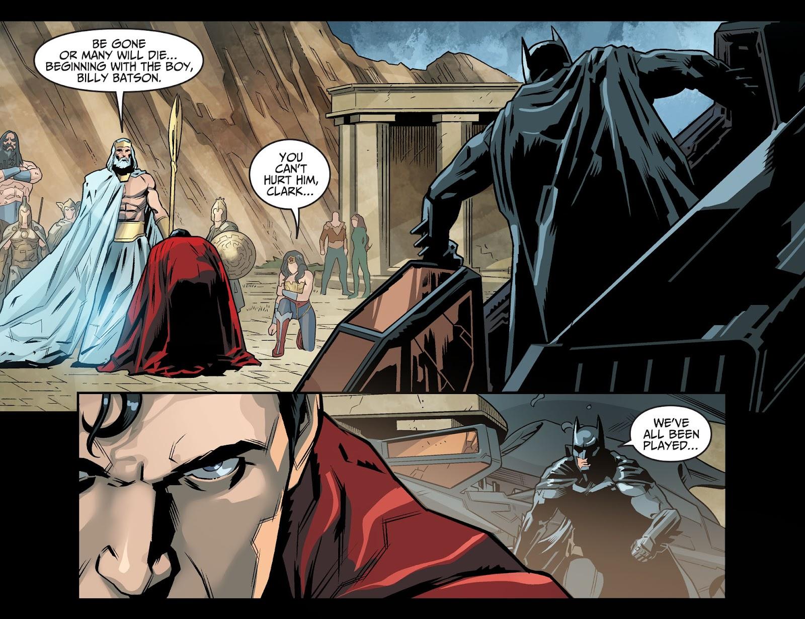 Injustice: Gods Among Us Year Four Issue #20 #21 - English 21