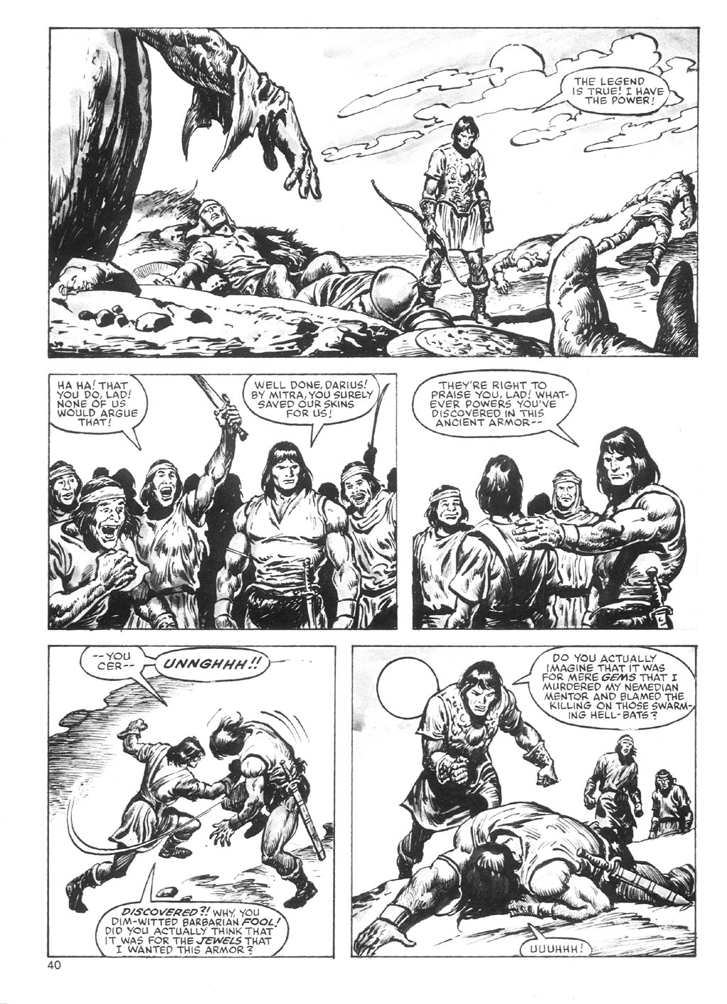 The Savage Sword Of Conan Issue #87 #88 - English 40