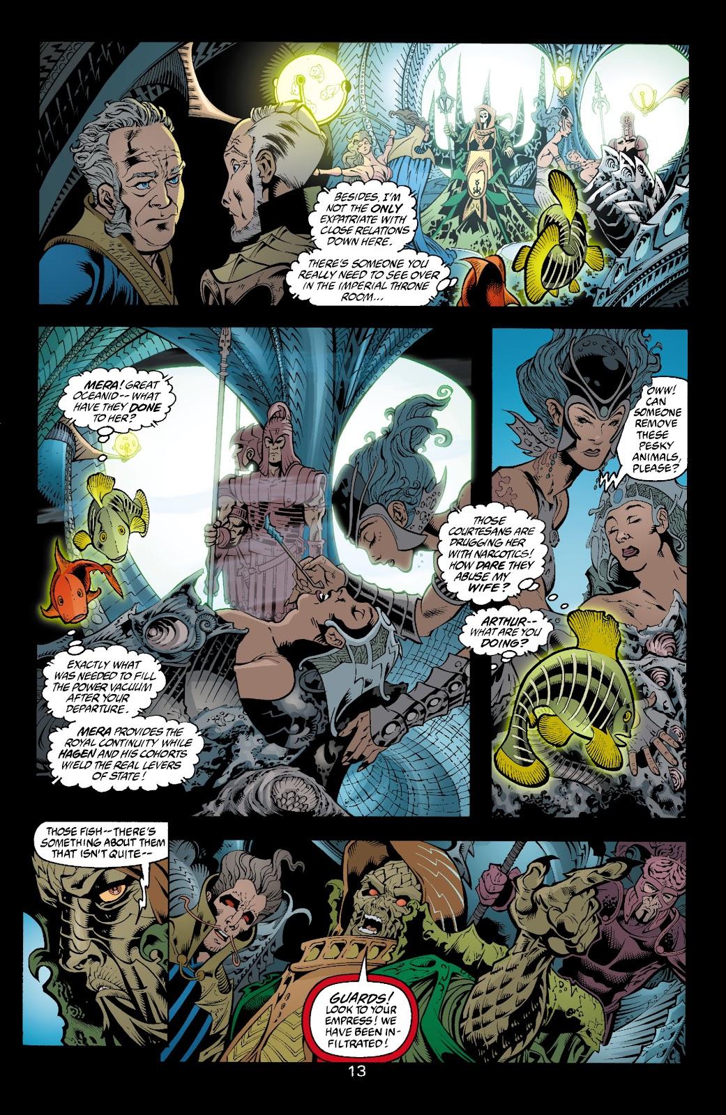Aquaman (2003) Issue #4 #4 - English 14