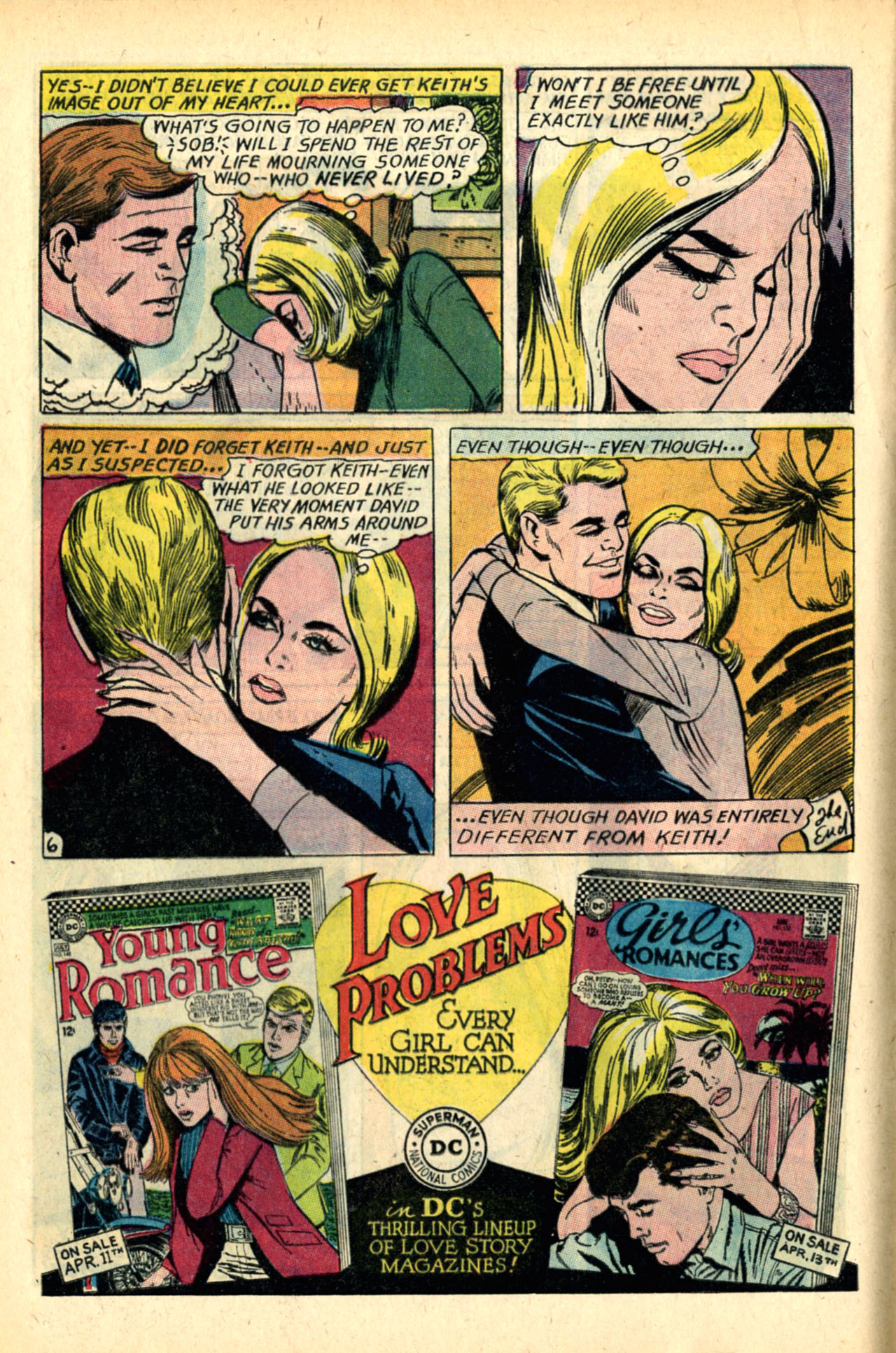 Read online Secret Hearts comic -  Issue #120 - 8