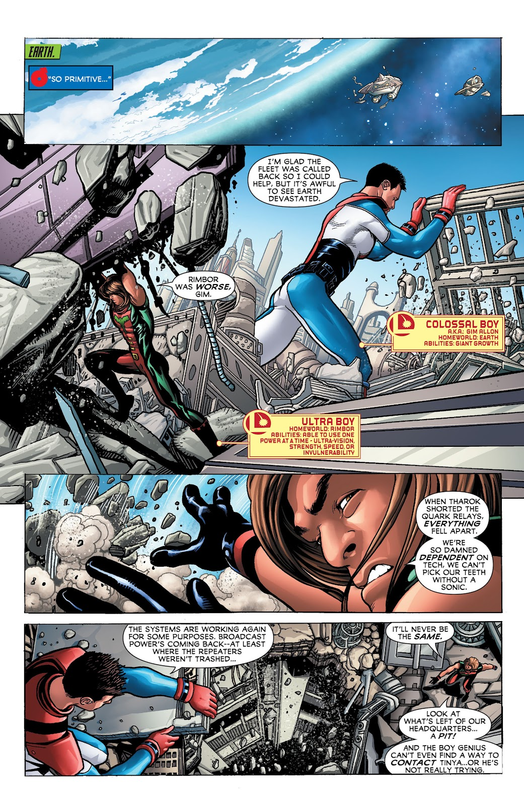 Legion of Super-Heroes (2011) Issue #23 #24 - English 5