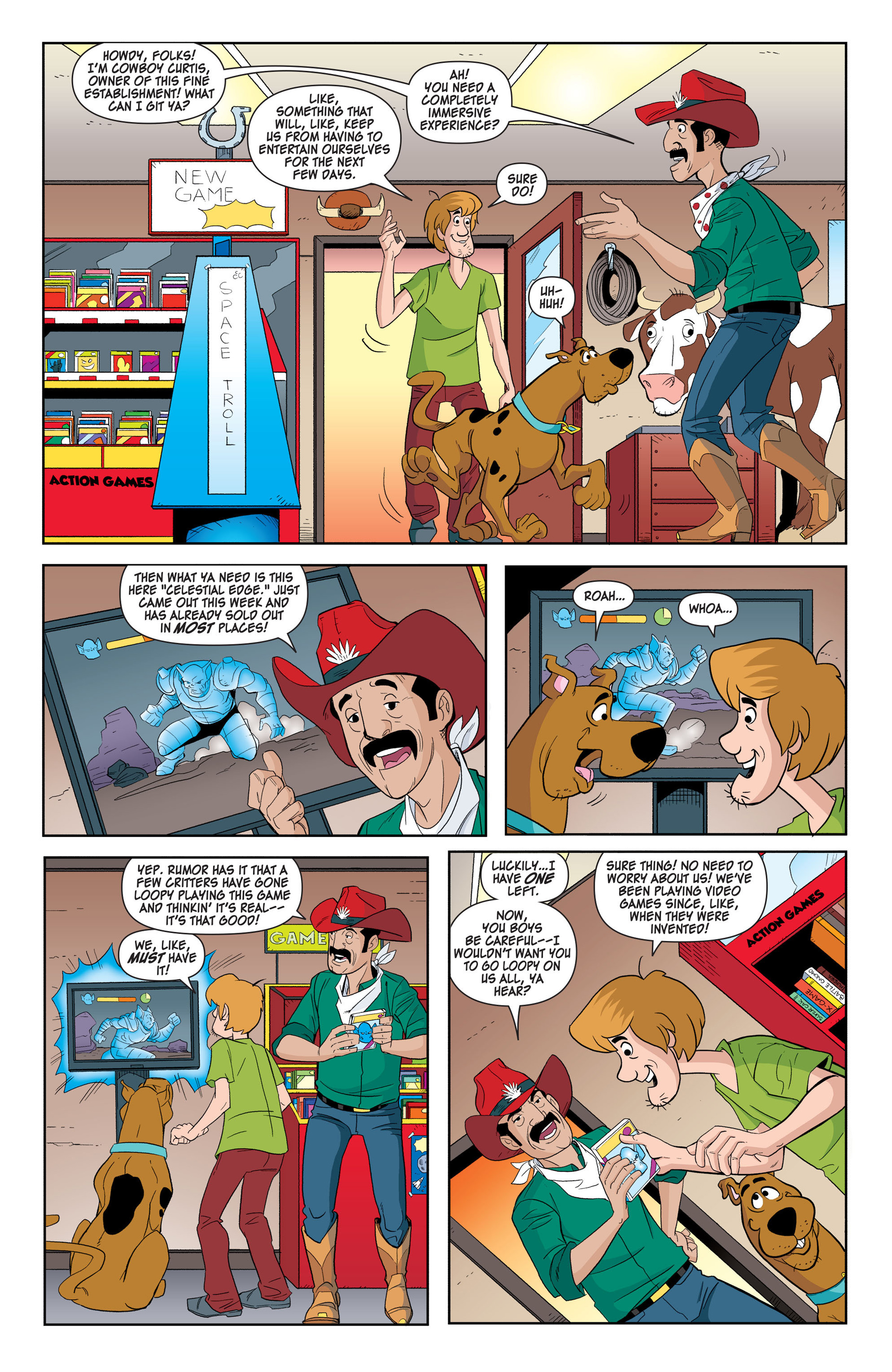 Read online Scooby-Doo: Where Are You? comic -  Issue #42 - 3