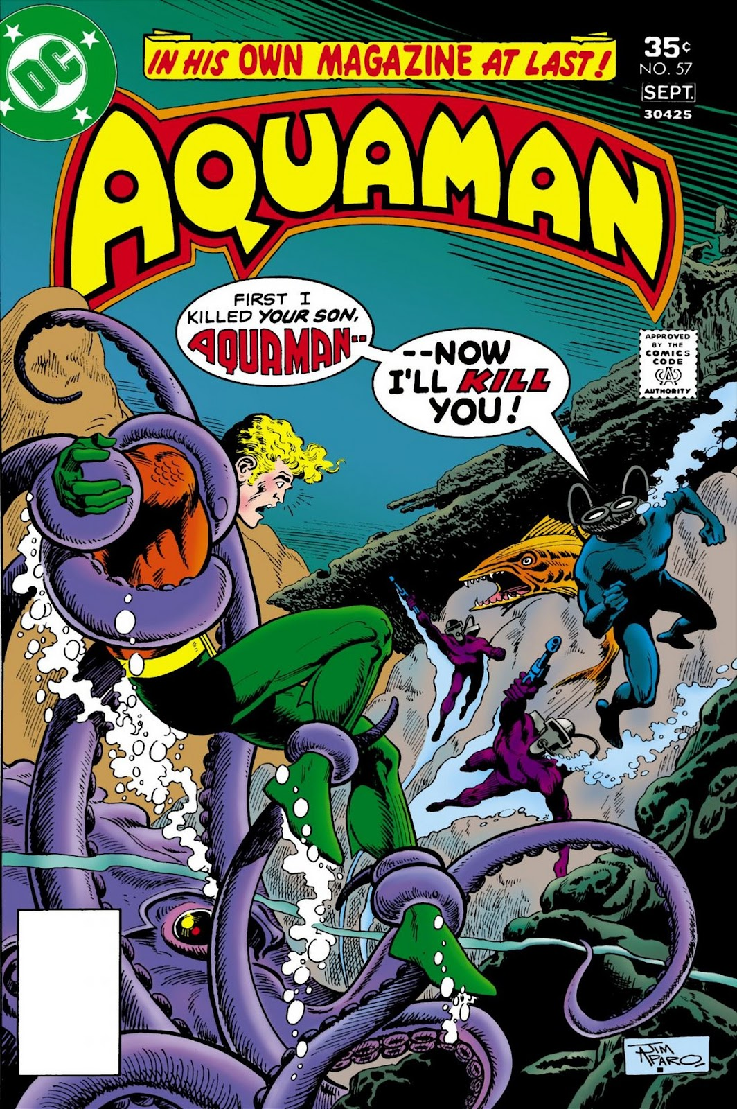 Aquaman (1962) Issue #57 #57 - English 1