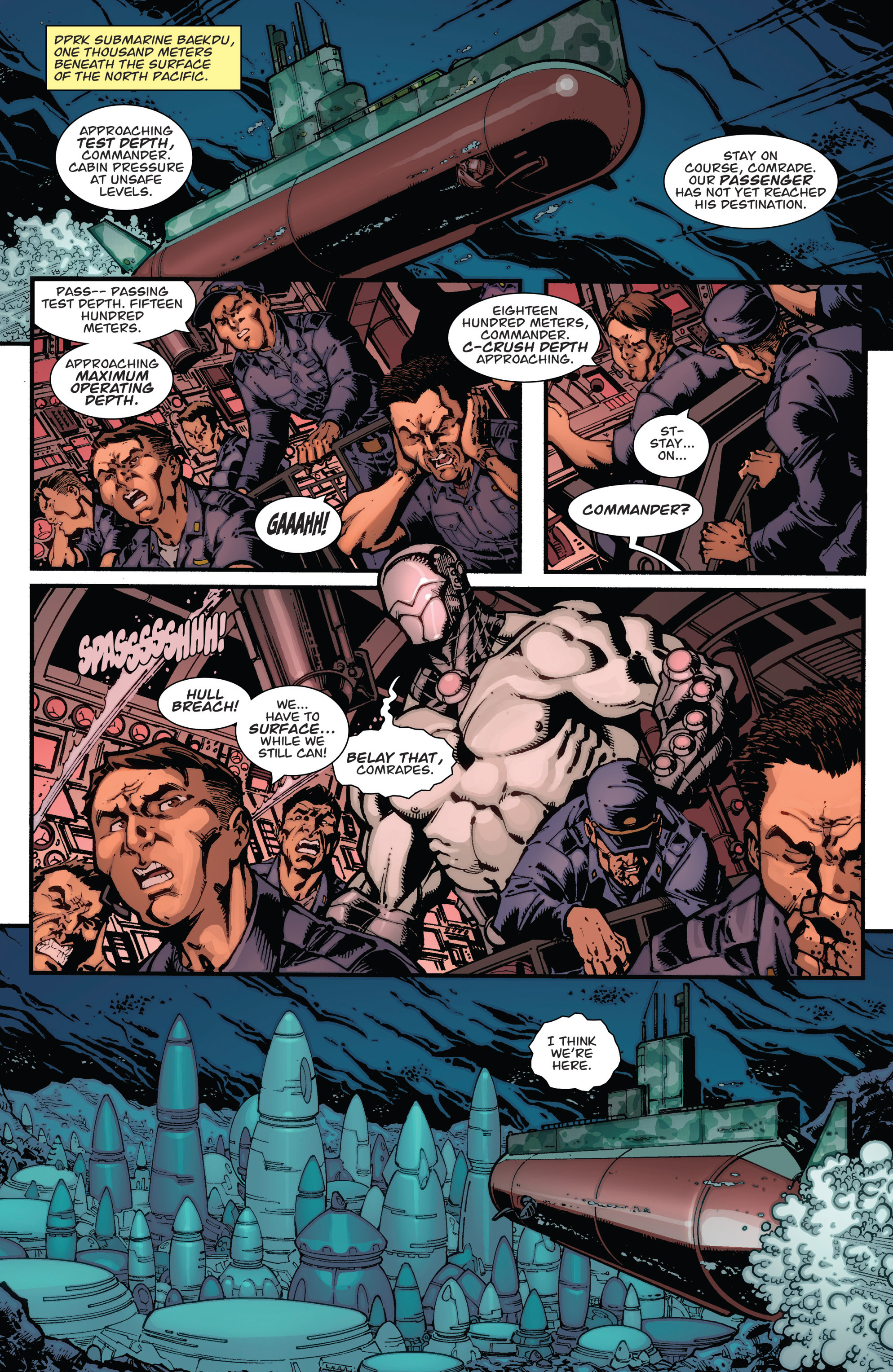 Read online Guarding the Globe (2012) comic -  Issue #2 - 16