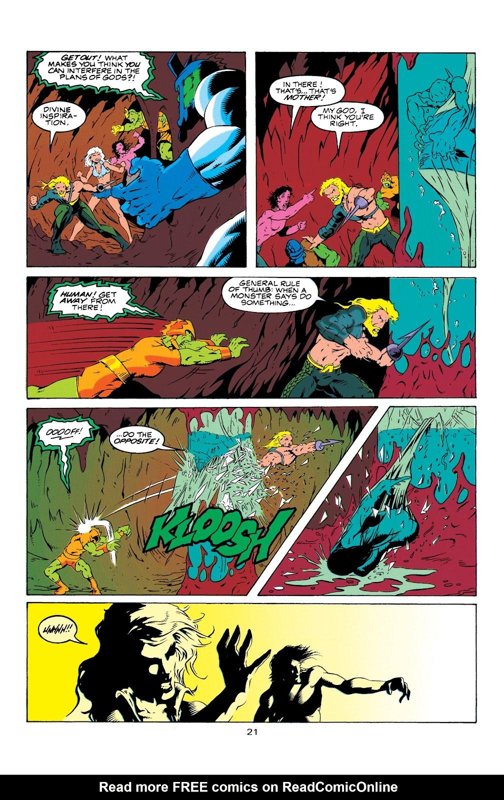 Aquaman (1994) Issue #7 #13 - English 22