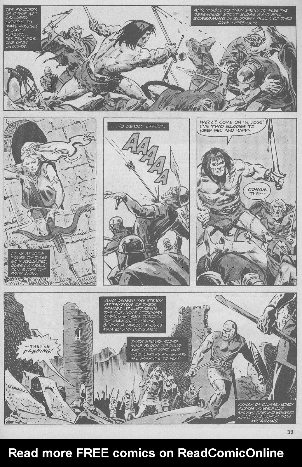 The Savage Sword Of Conan Issue #44 #45 - English 39