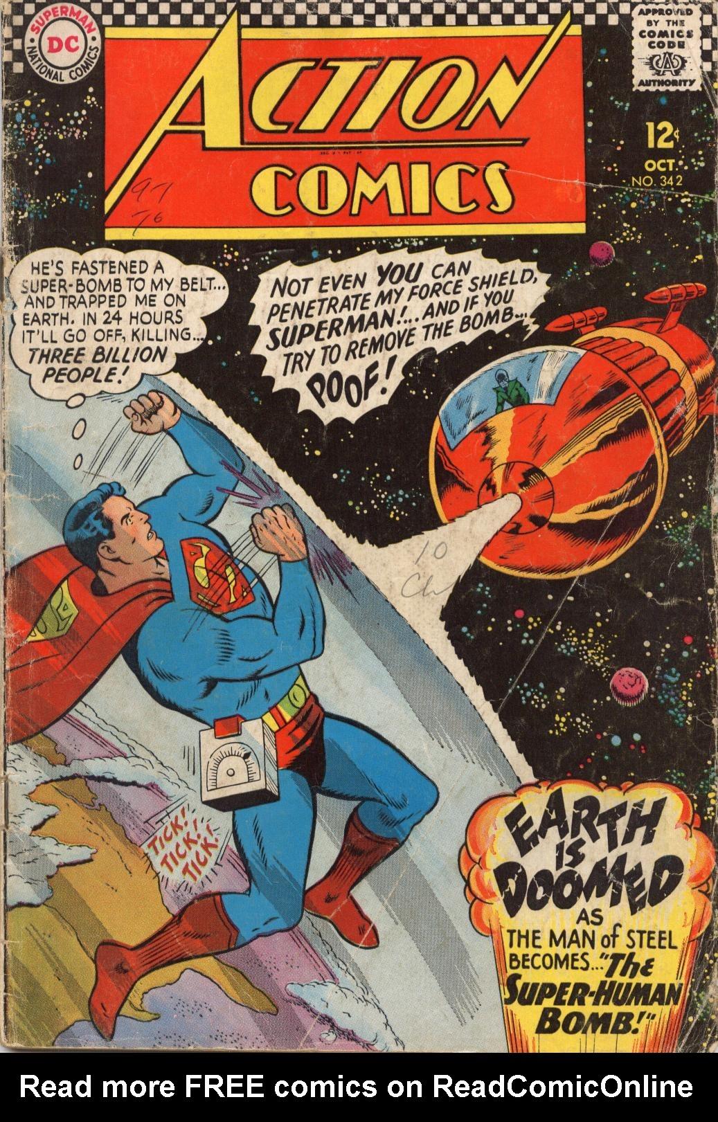Action Comics (1938) 342 Page 1