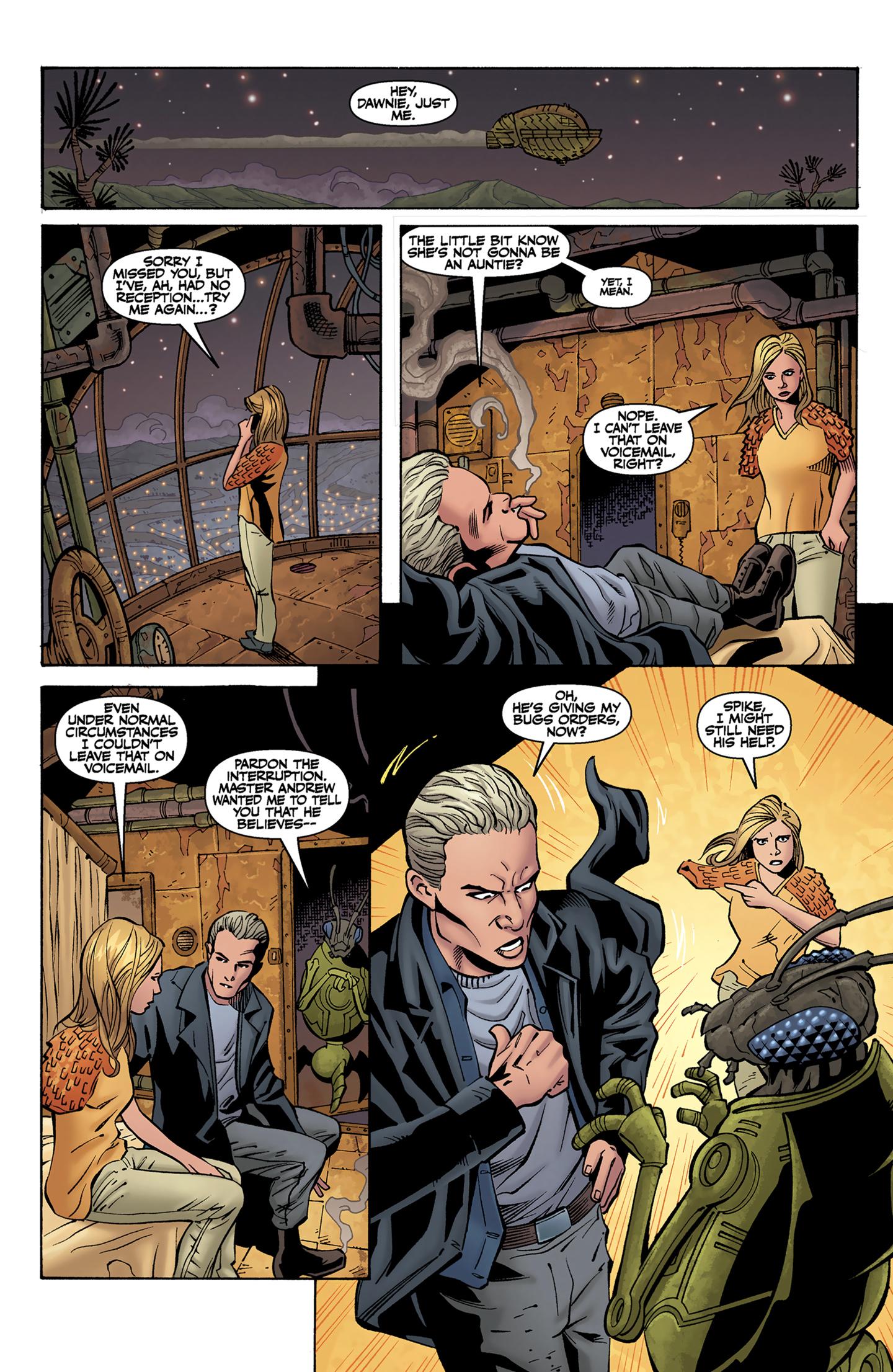 Read online Buffy the Vampire Slayer Season Nine comic -  Issue #9 - 11