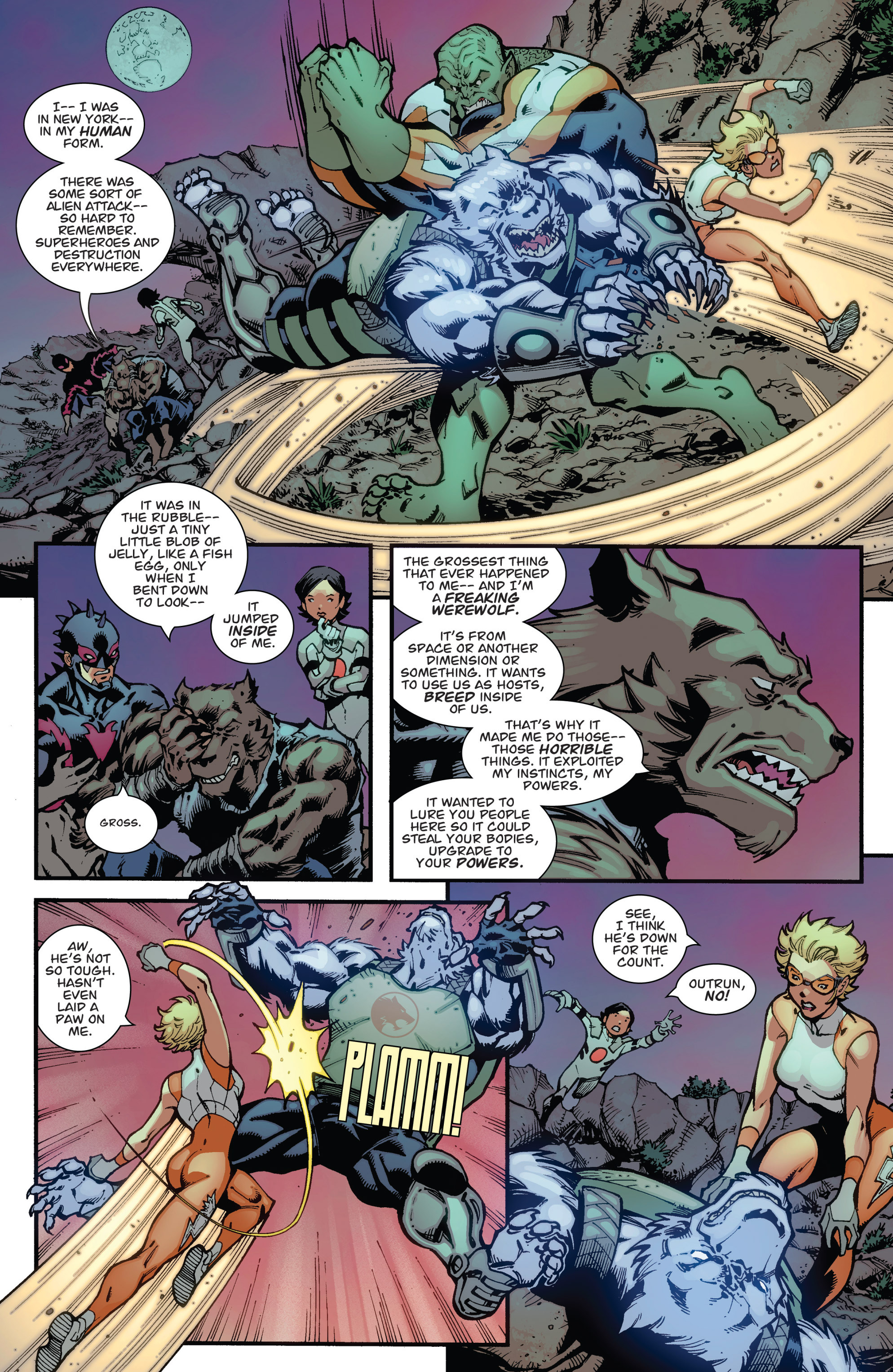 Read online Guarding the Globe (2012) comic -  Issue #3 - 20