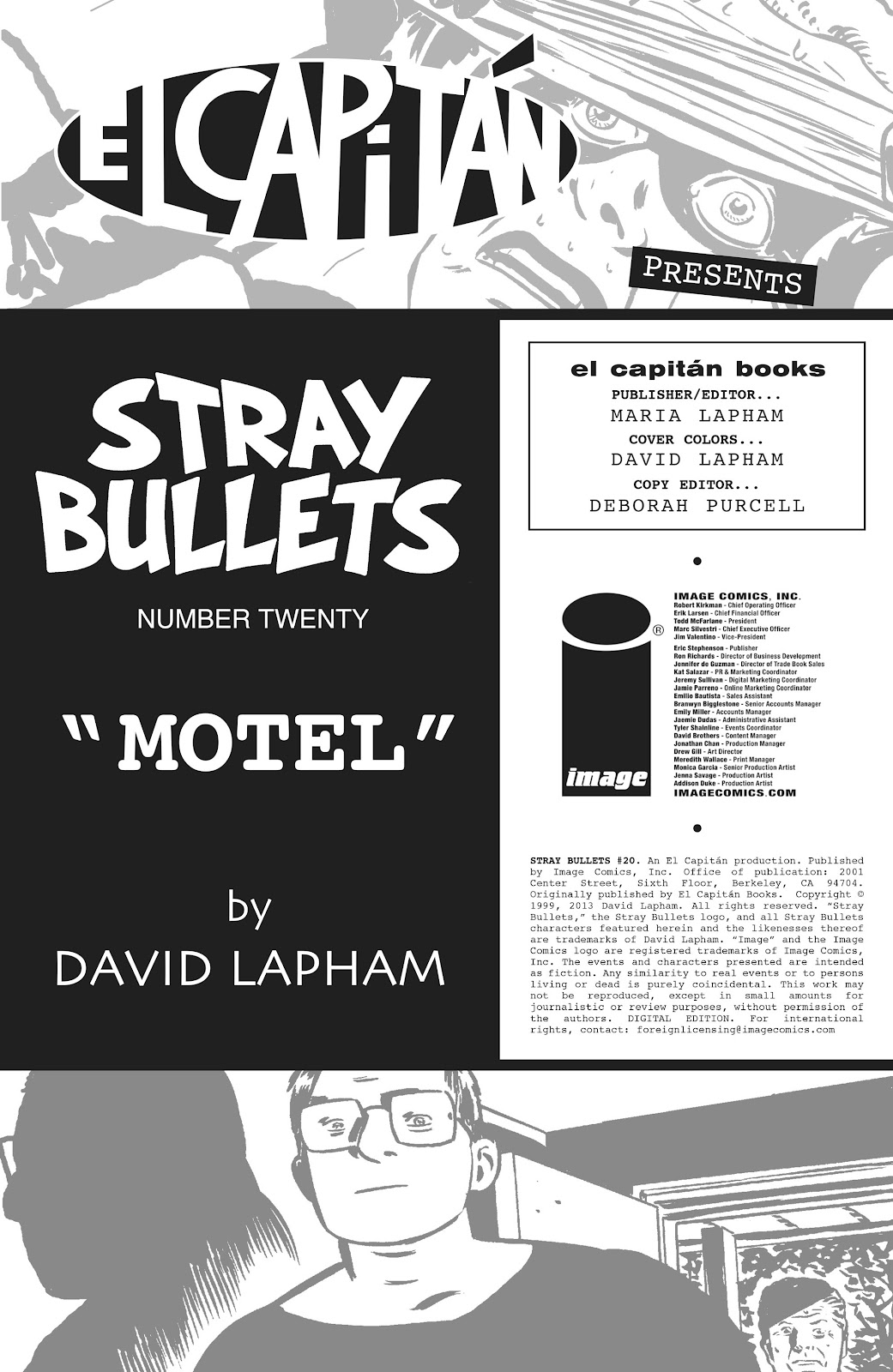 Stray Bullets Issue #20 #20 - English 2