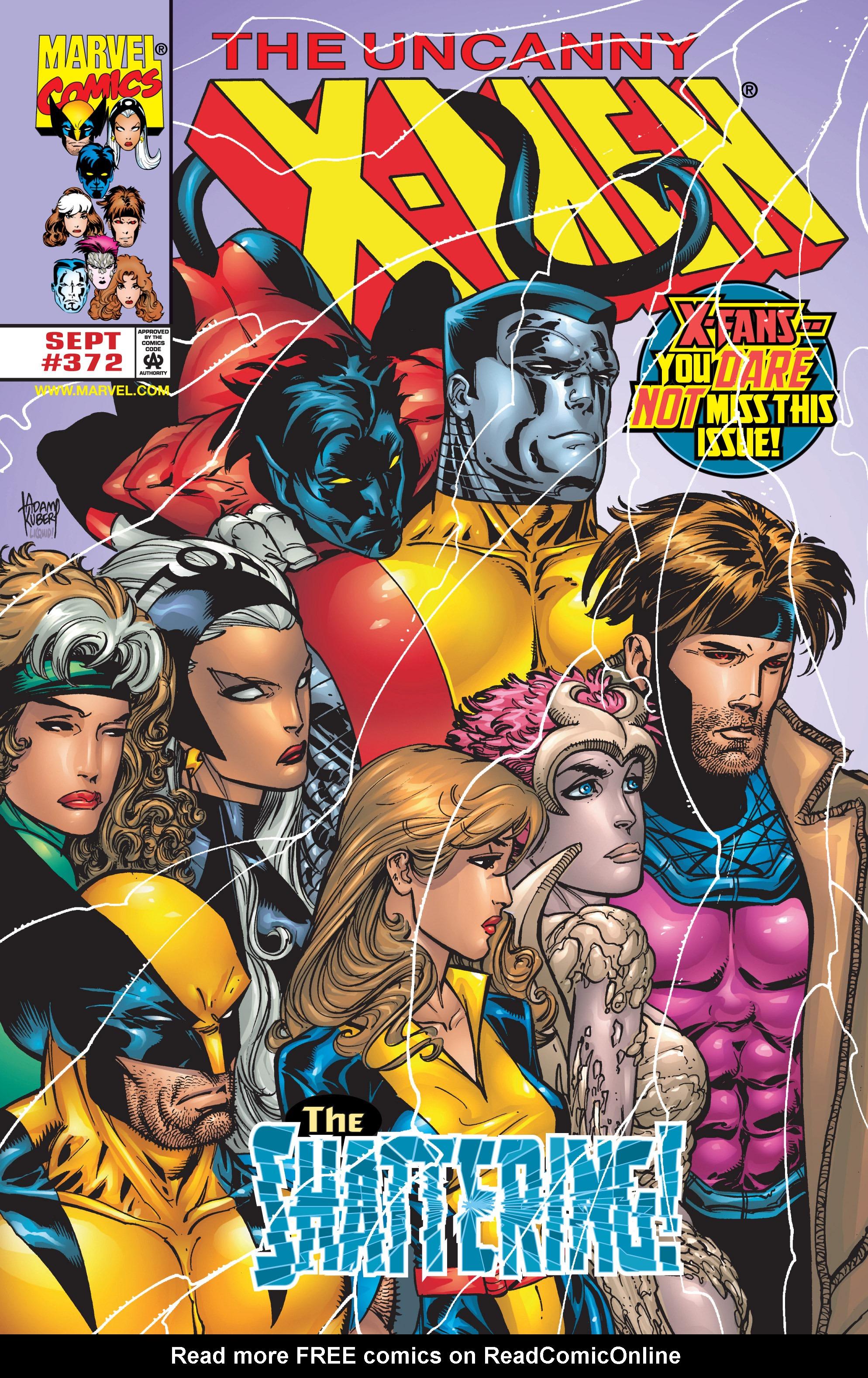 Uncanny X-Men (1963) 372 Page 1