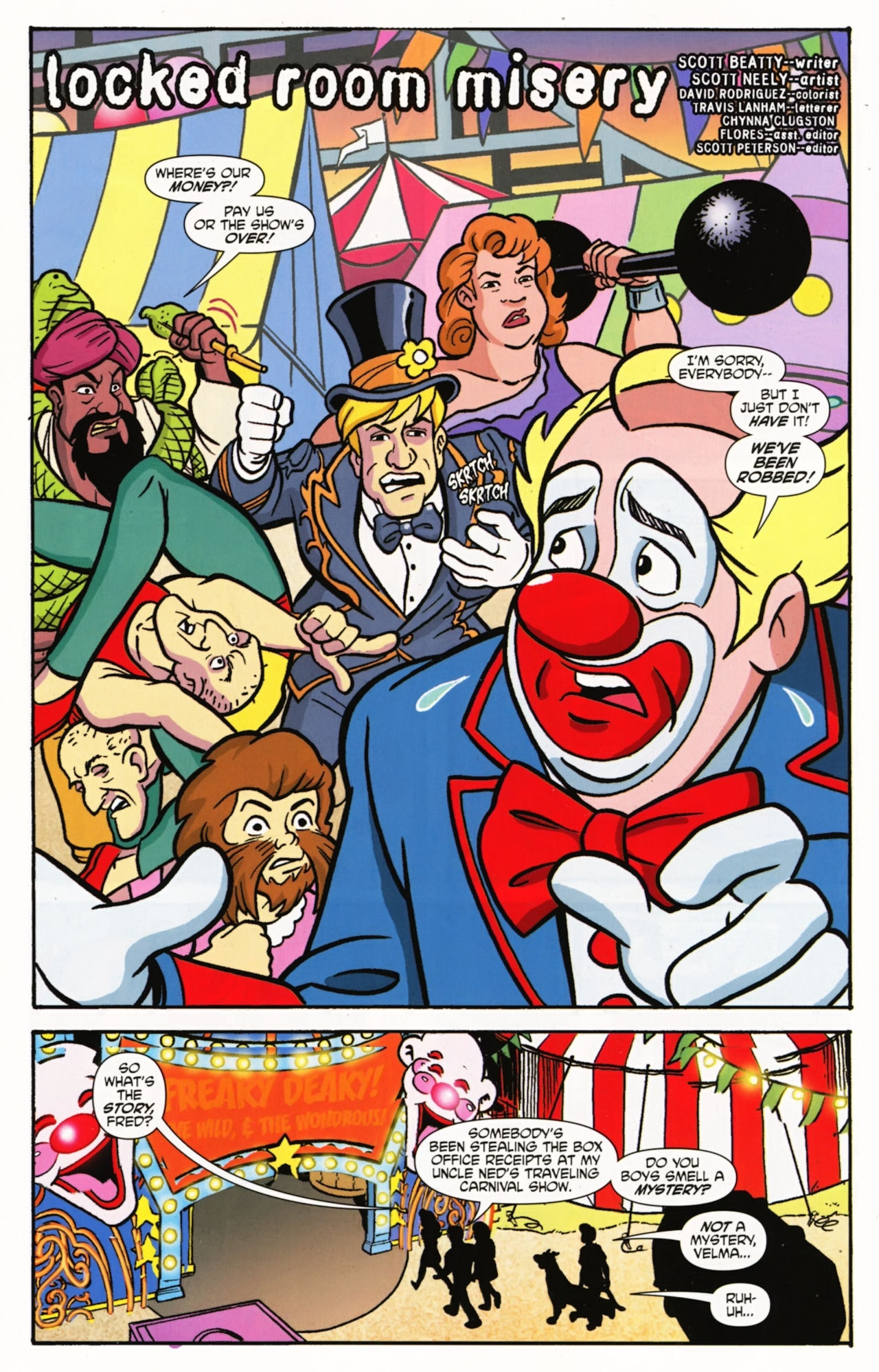 Read online Scooby-Doo: Where Are You? comic -  Issue #5 - 3
