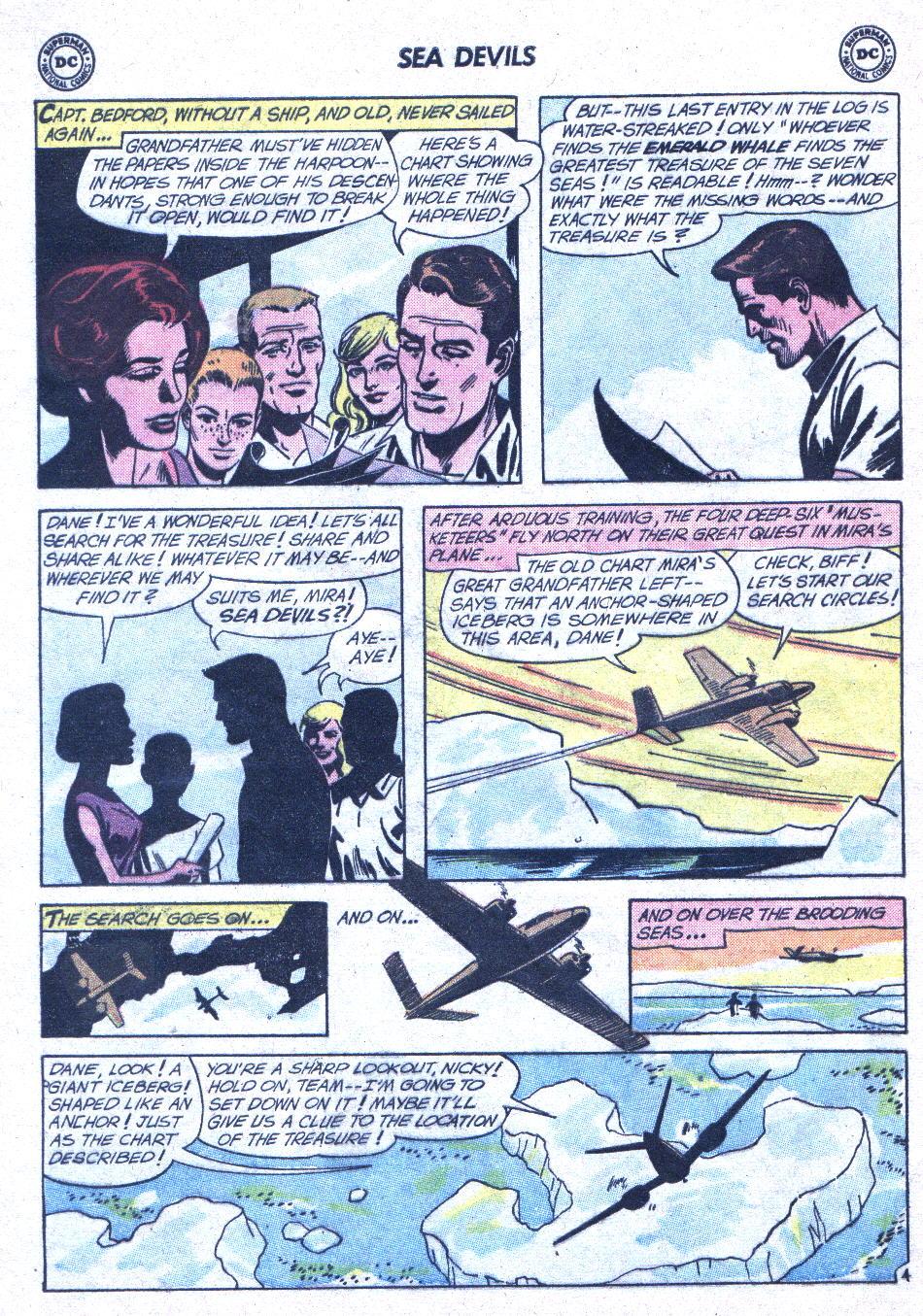 Read online Sea Devils comic -  Issue #1 - 25