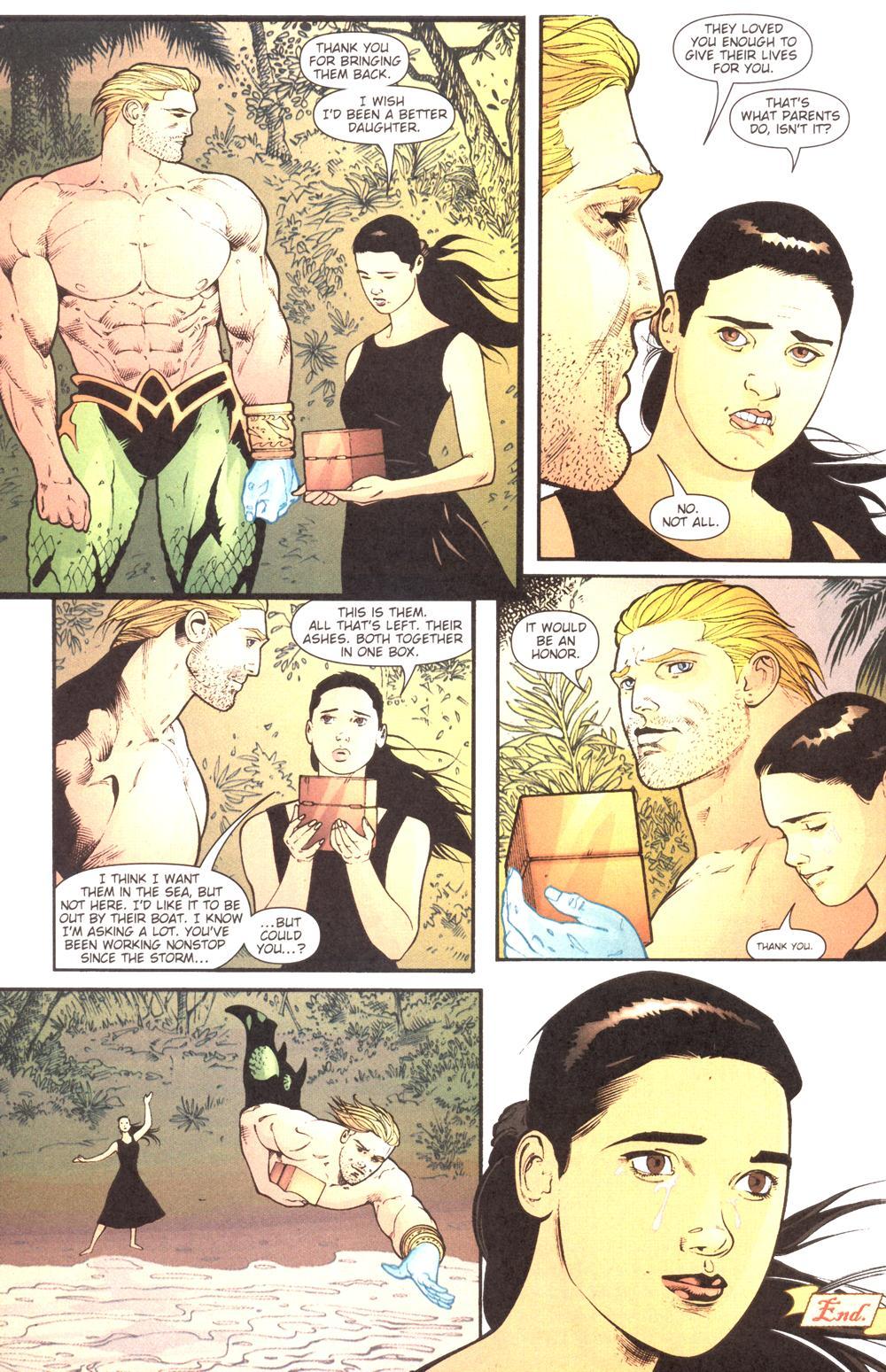 Aquaman (2003) Issue #13 #13 - English 23