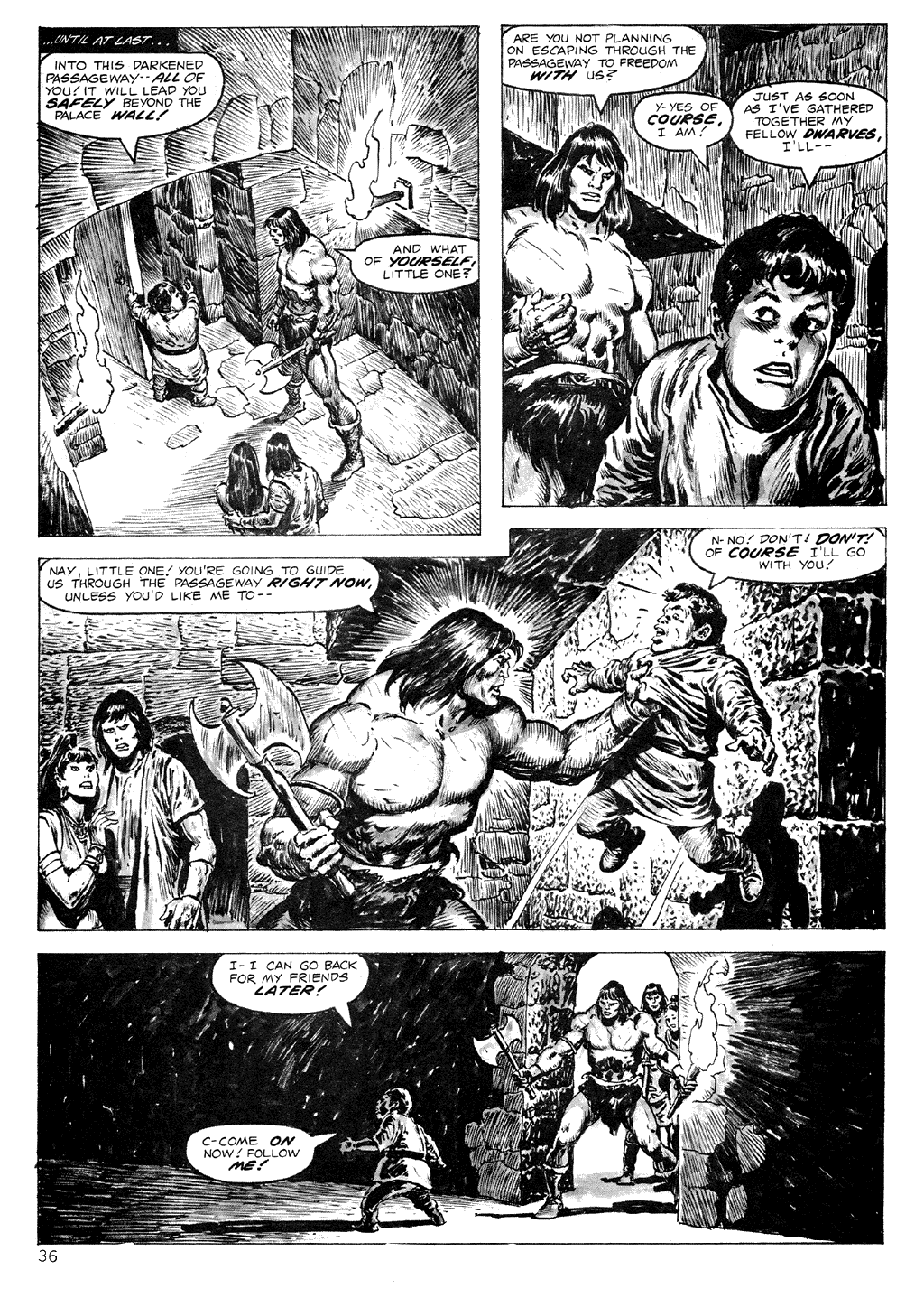 The Savage Sword Of Conan Issue #71 #72 - English 36