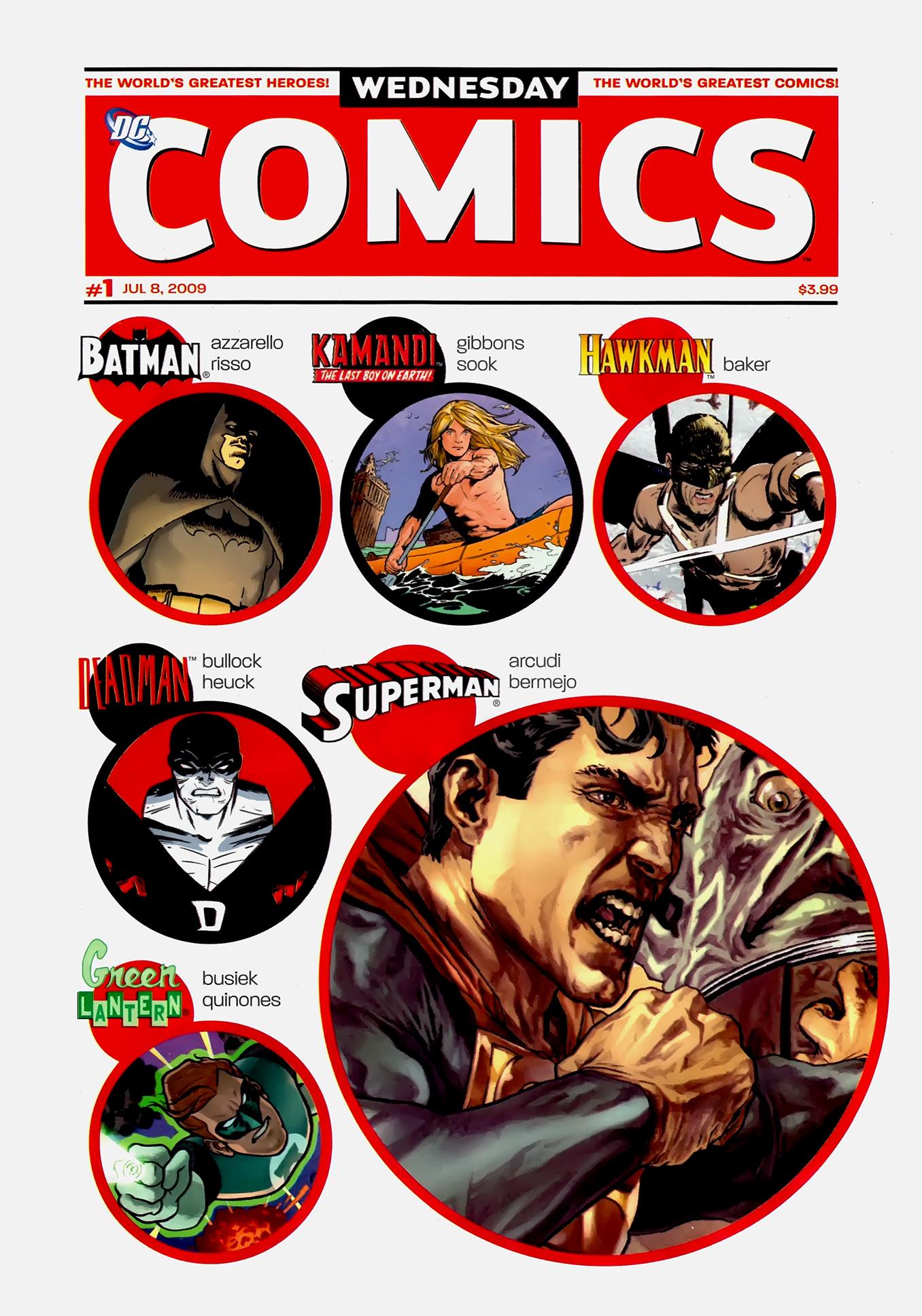 Read online Wednesday Comics comic -  Issue #1 - 2