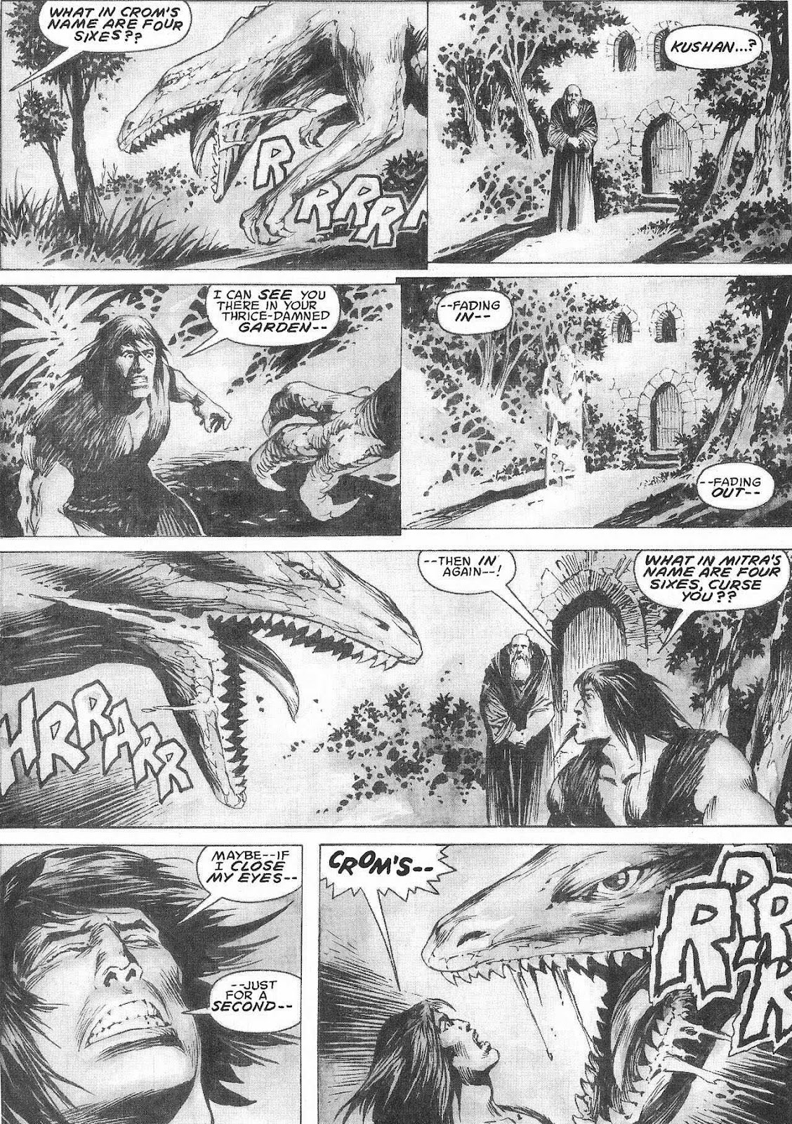 The Savage Sword Of Conan Issue #207 #208 - English 43