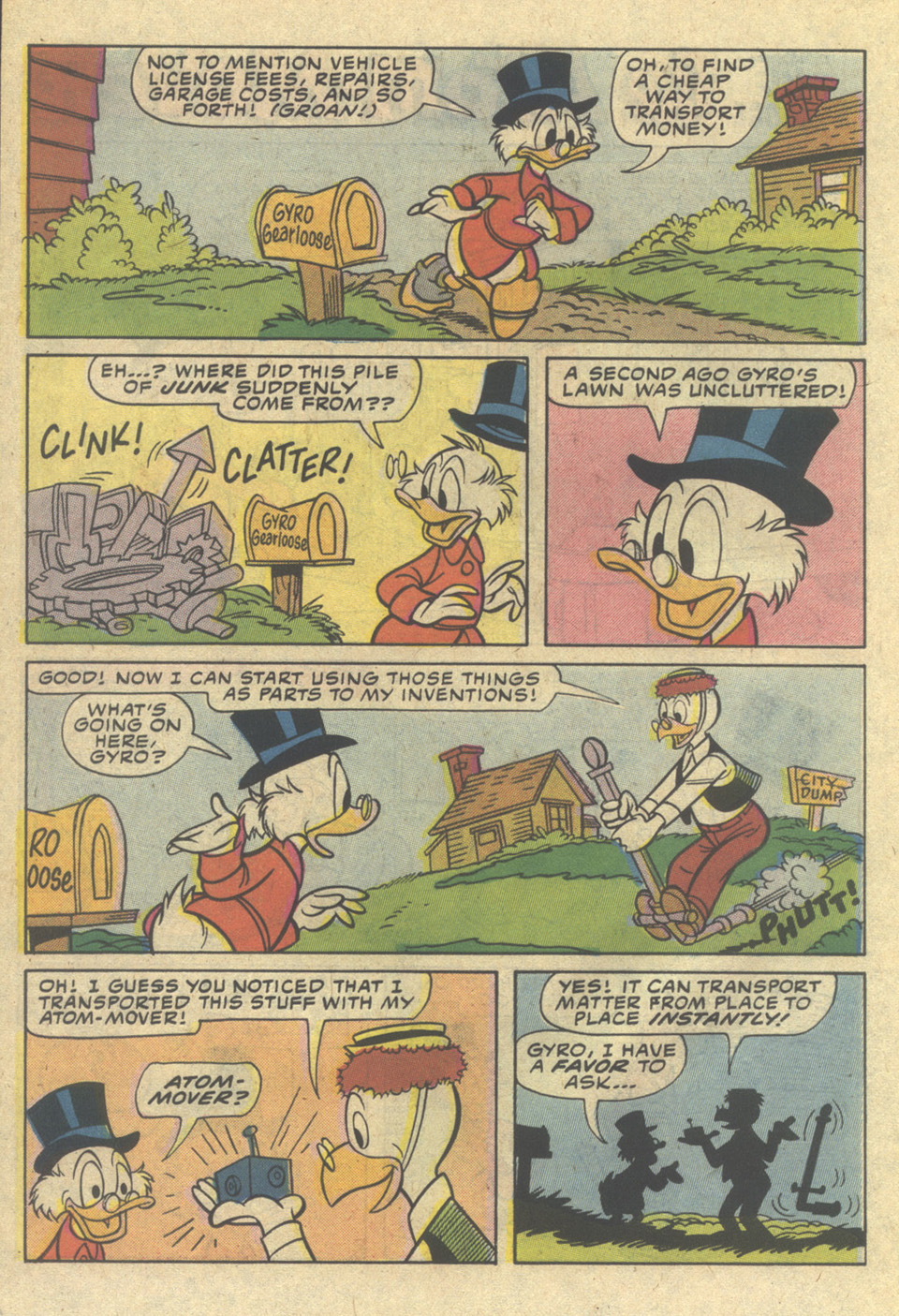 Uncle Scrooge (1953) Issue #206 #206 - English 26